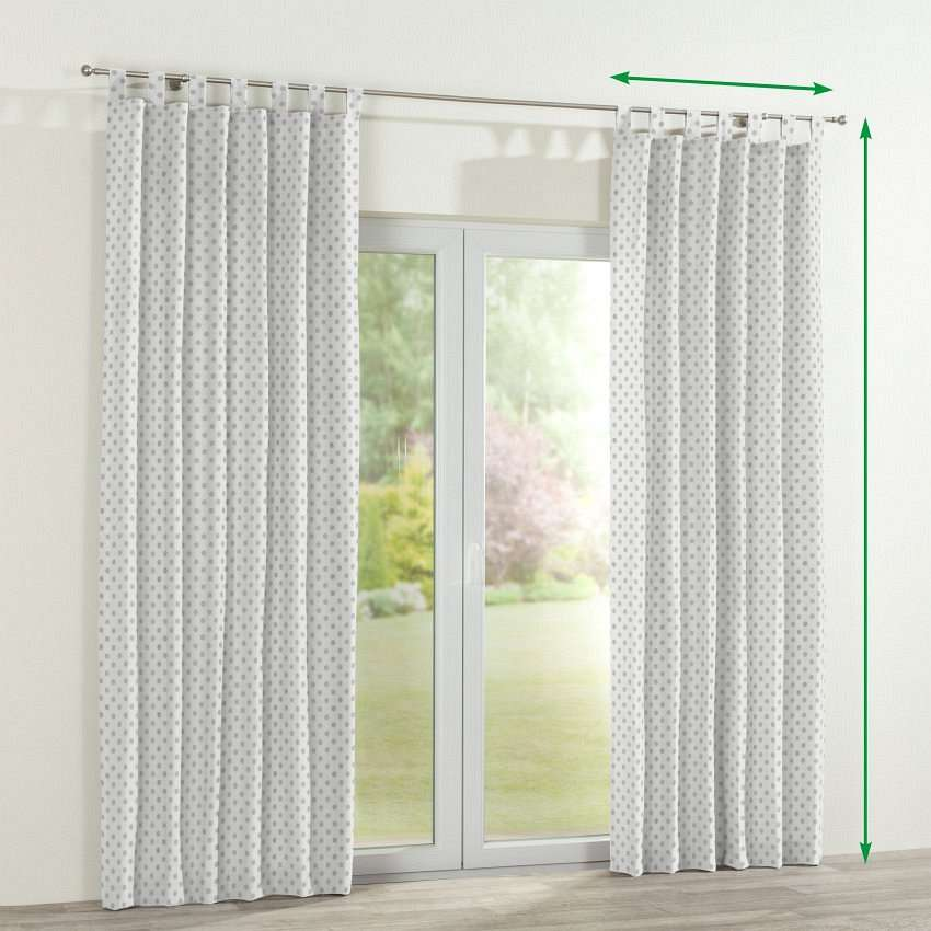 Tab top curtains in collection Ashley, fabric: 137-68