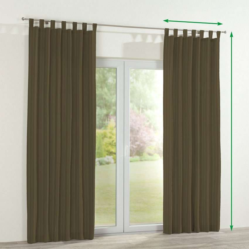 Tab top curtains in collection SALE, fabric: 411-53