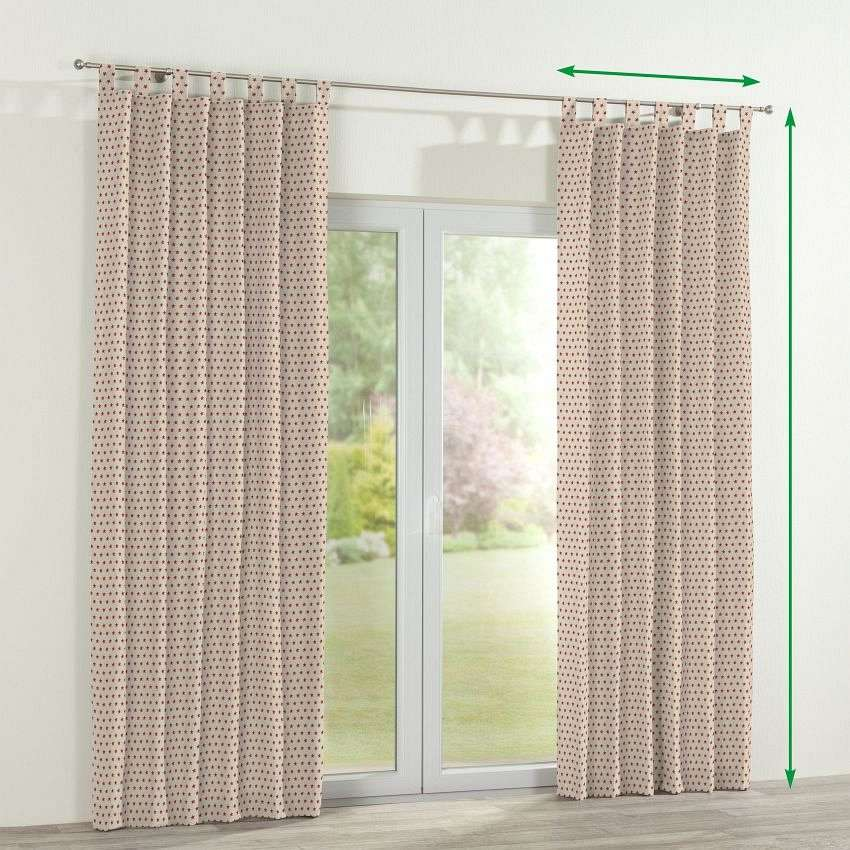 Tab top curtains in collection Freestyle, fabric: 629-10