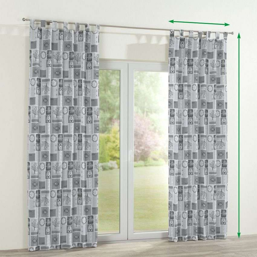 Tab top curtains in collection SALE, fabric: 630-20