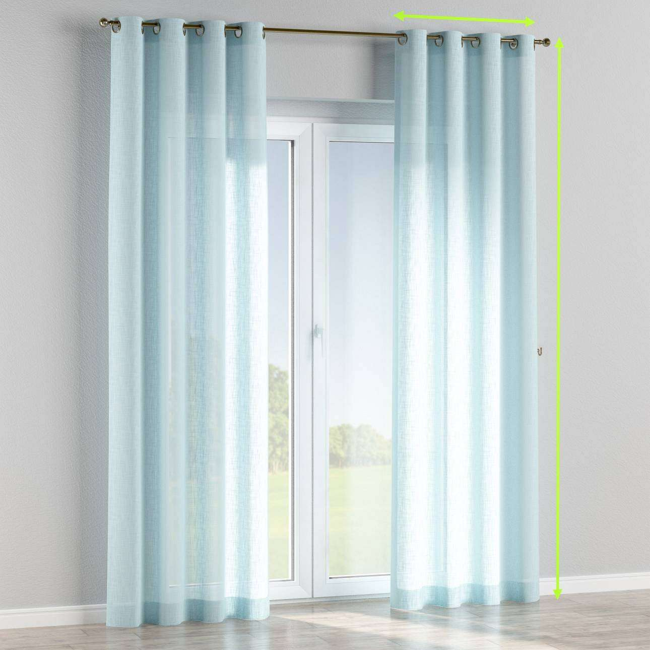 Eyelet curtains in collection Romantica, fabric: 128-06