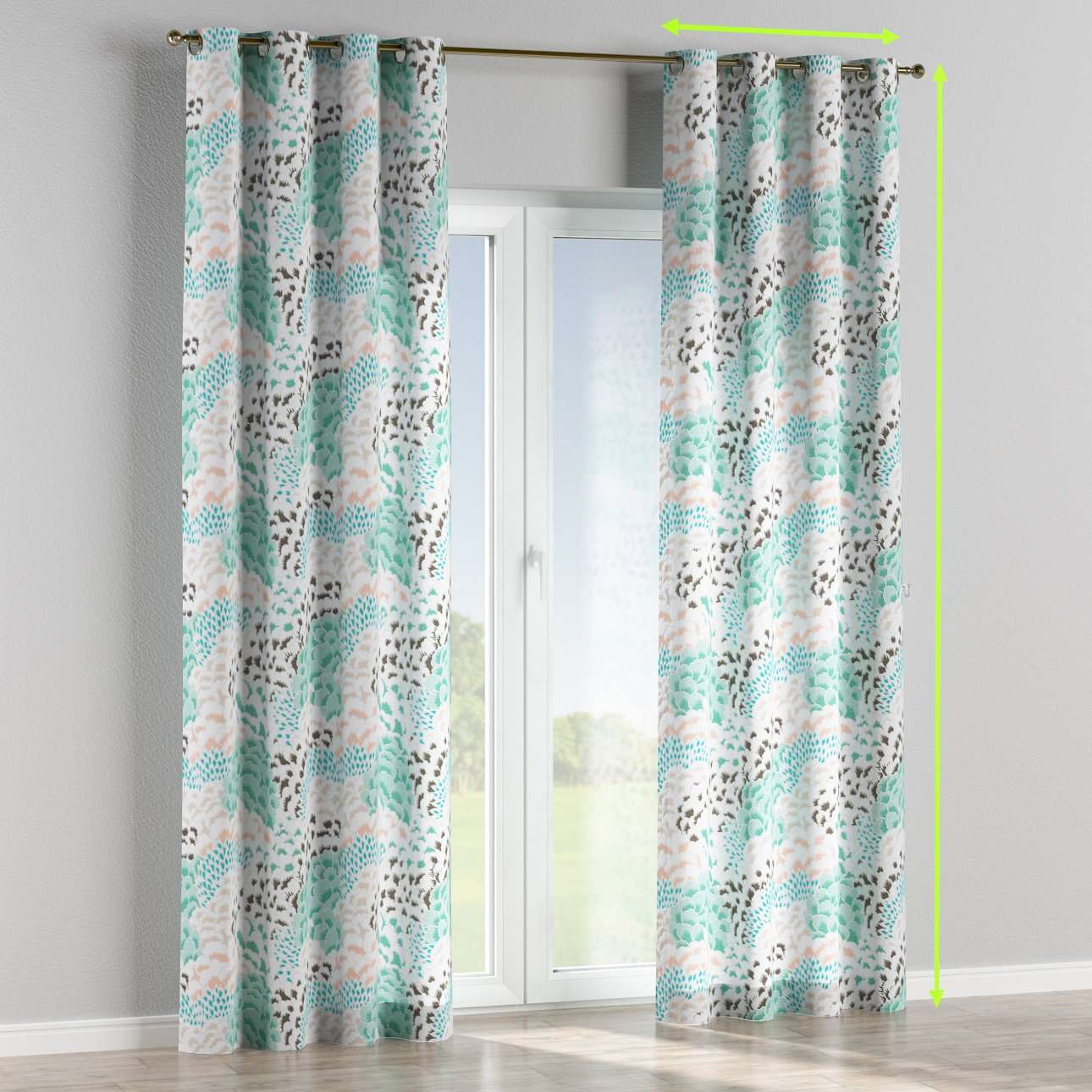 Eyelet curtains in collection Brooklyn, fabric: 137-89