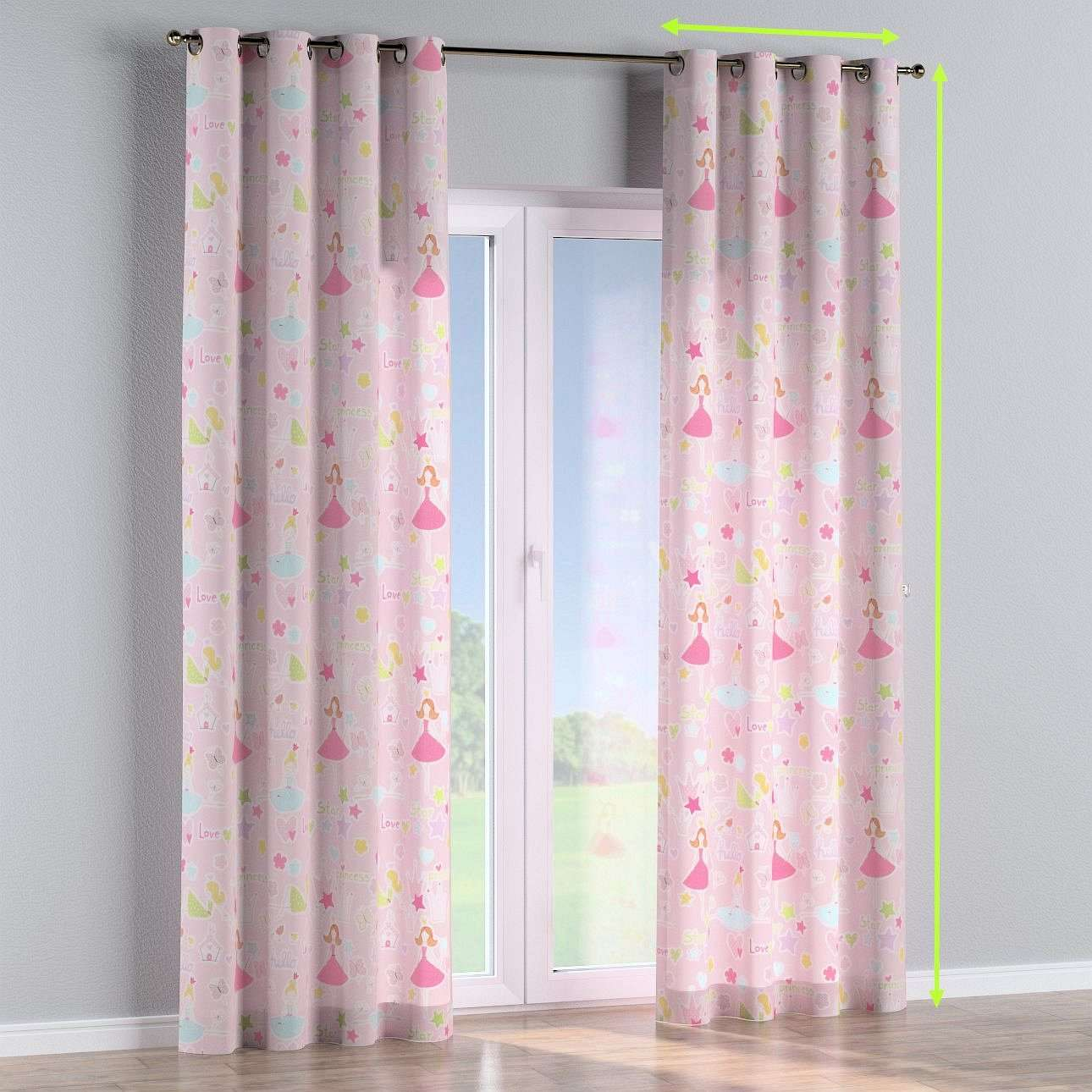 Eyelet curtains in collection Little World, fabric: 141-50