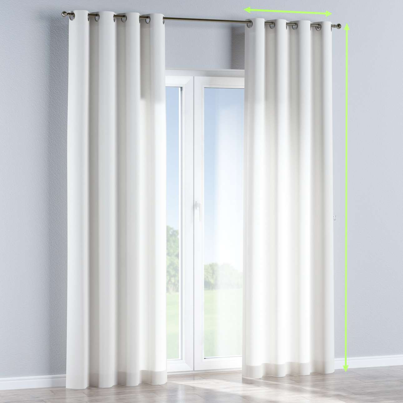 Eyelet curtain in collection Comics/Geometrical, fabric: 139-00