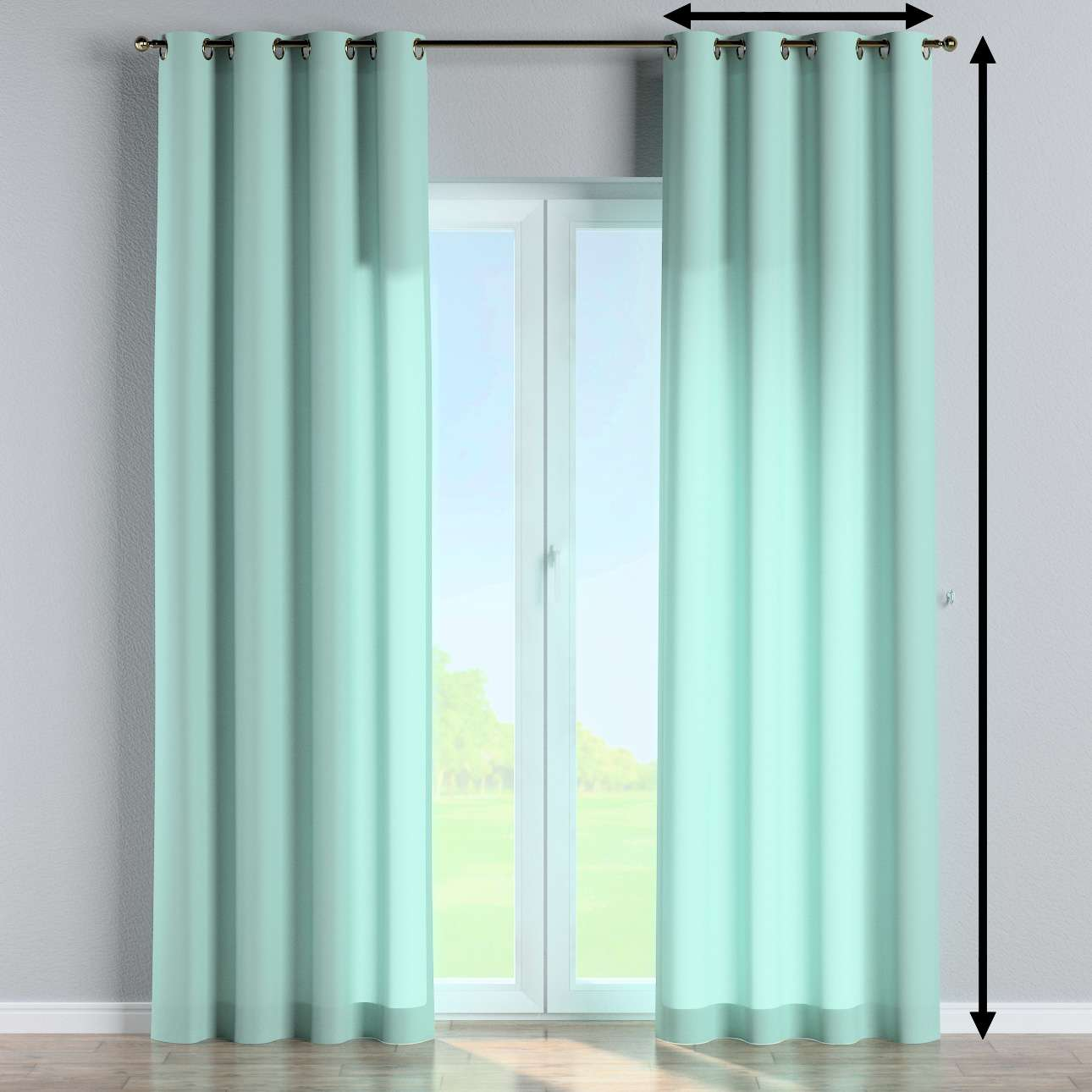 Eyelet curtain in collection Loneta , fabric: 133-32