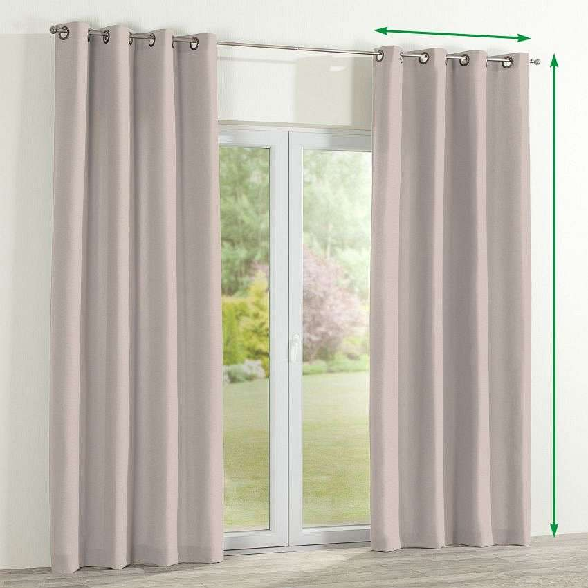 Eyelet curtain in collection Etna, fabric: 705-02