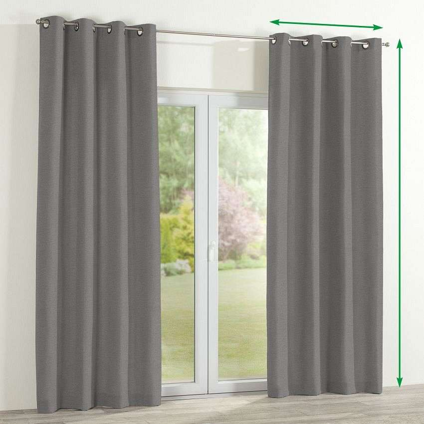 Eyelet curtain in collection Etna, fabric: 705-03