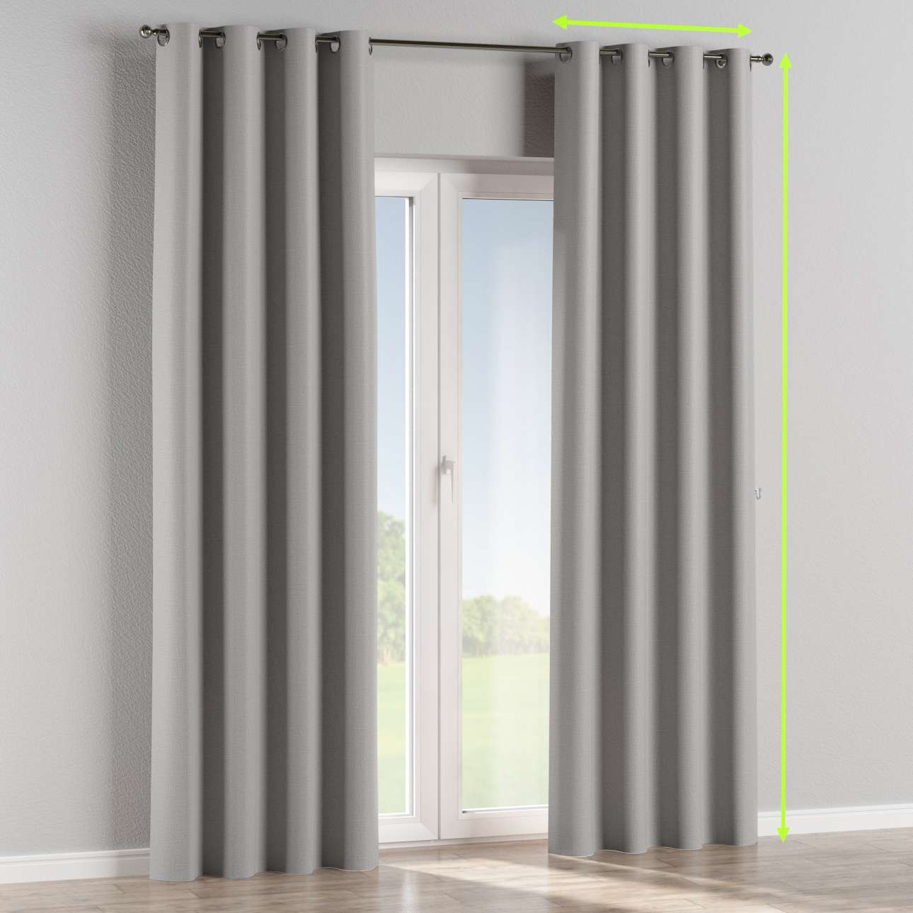 Eyelet curtain in collection Blackout, fabric: 269-64