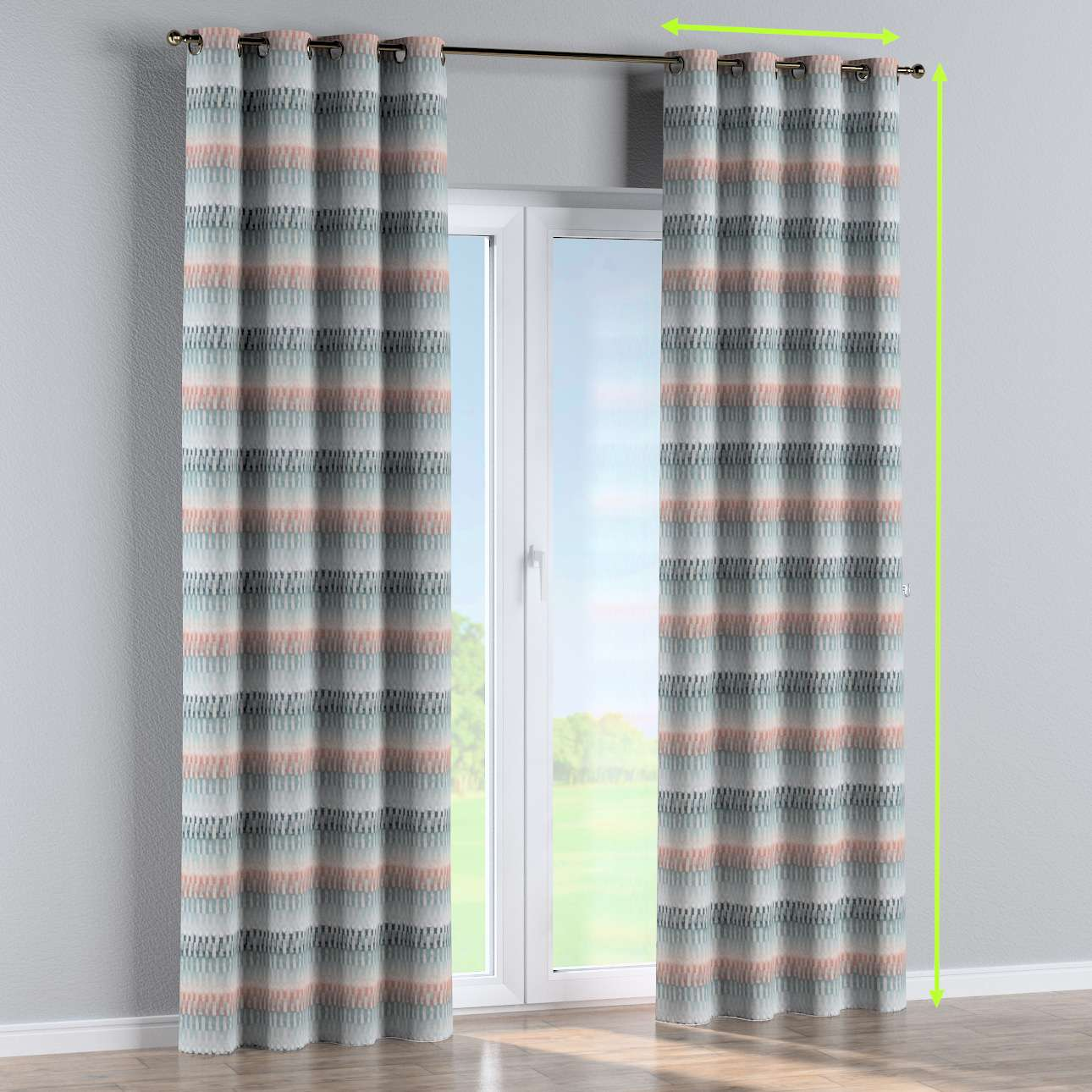 Eyelet curtain in collection SALE, fabric: 142-51