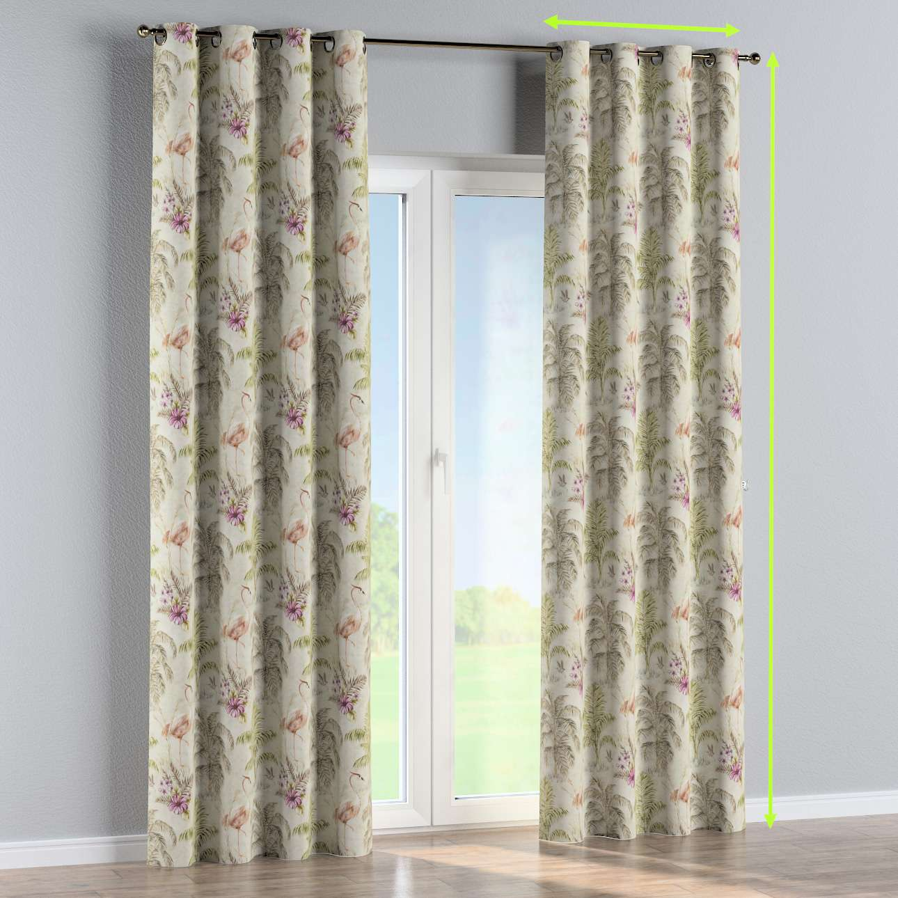 Eyelet curtain in collection SALE, fabric: 142-61