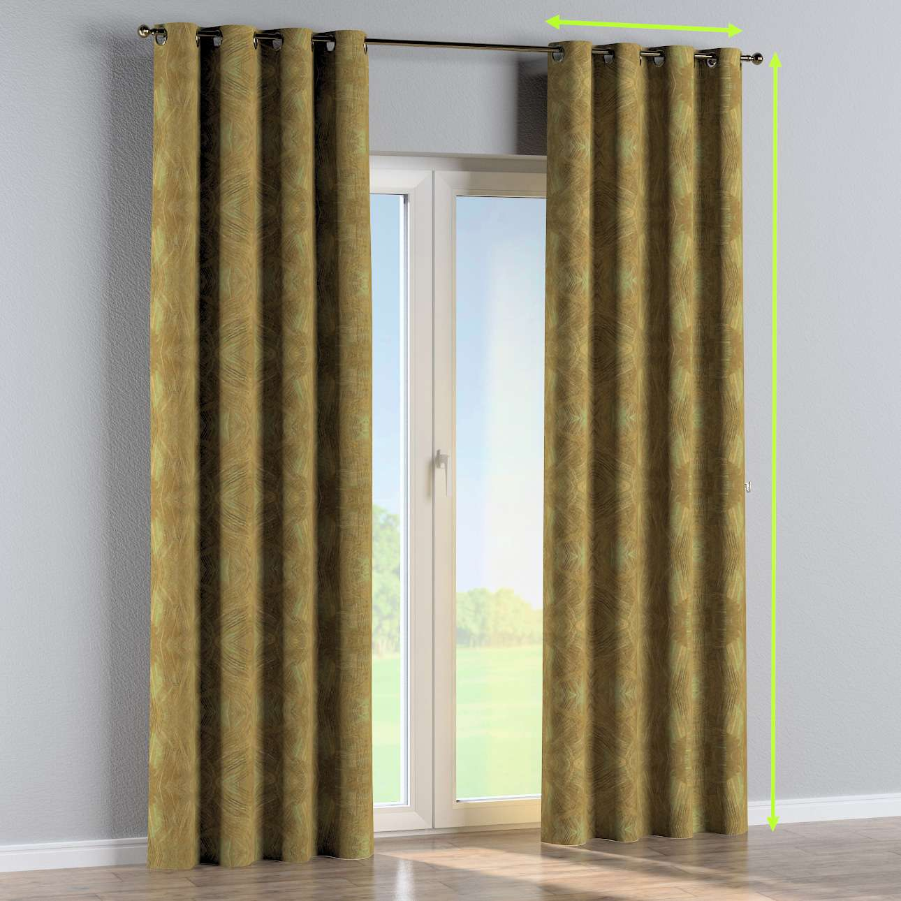 Eyelet curtain in collection SALE, fabric: 142-59