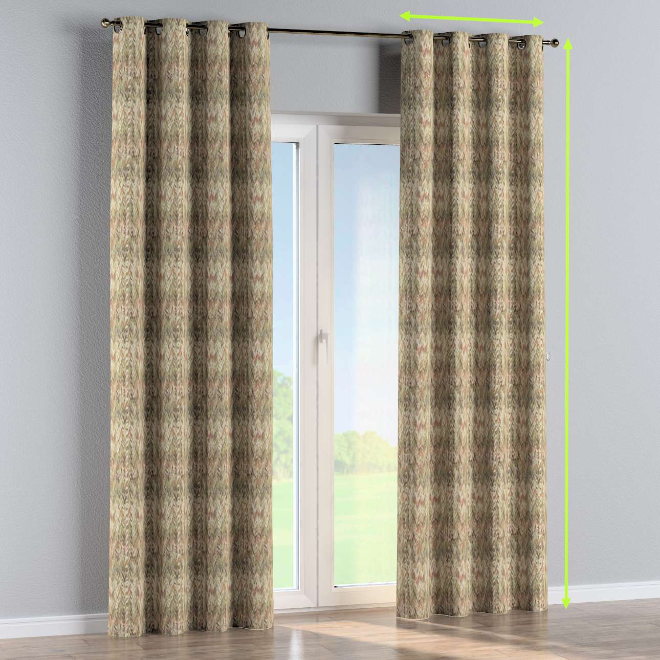 Eyelet curtain in collection SALE, fabric: 142-66