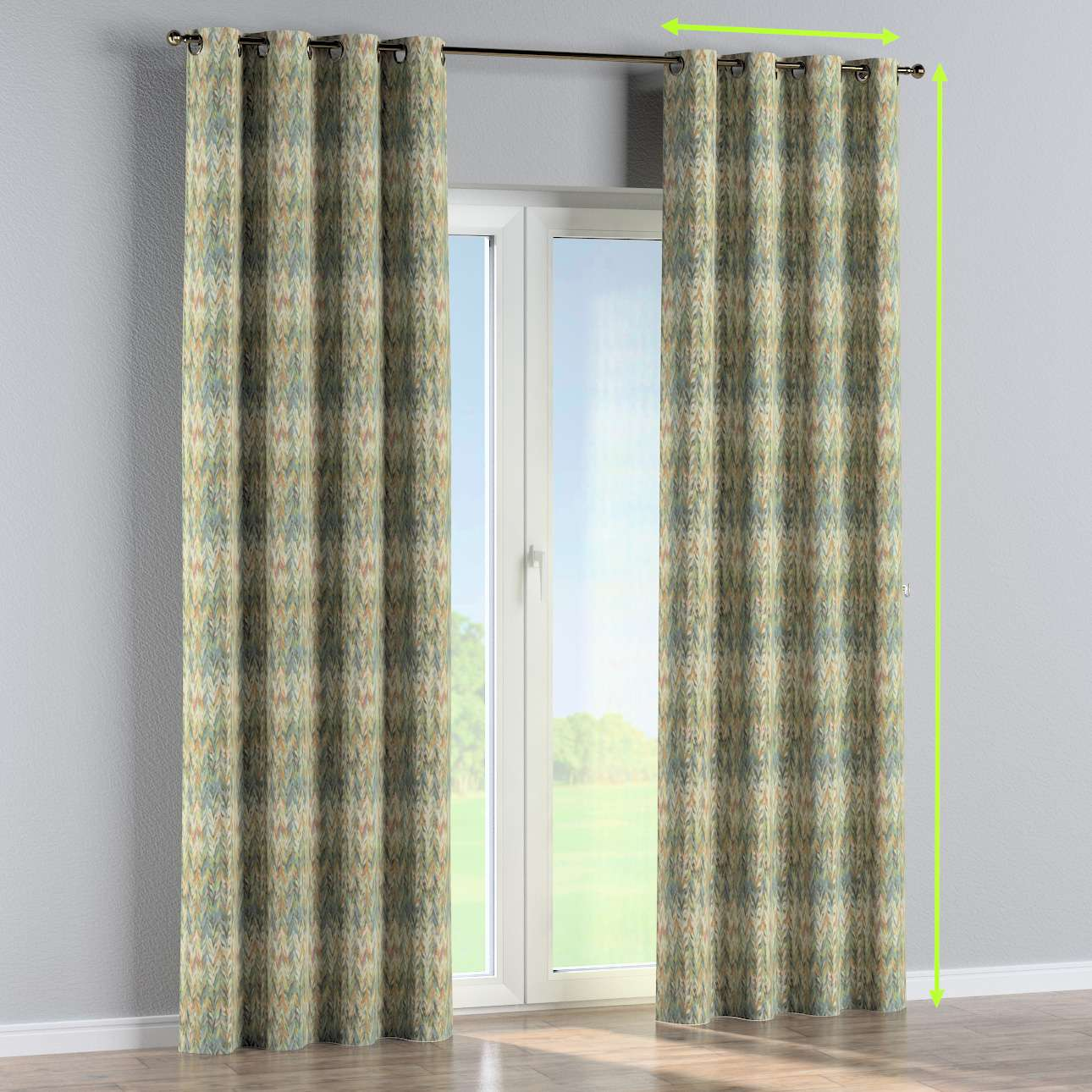 Eyelet curtain in collection SALE, fabric: 142-67