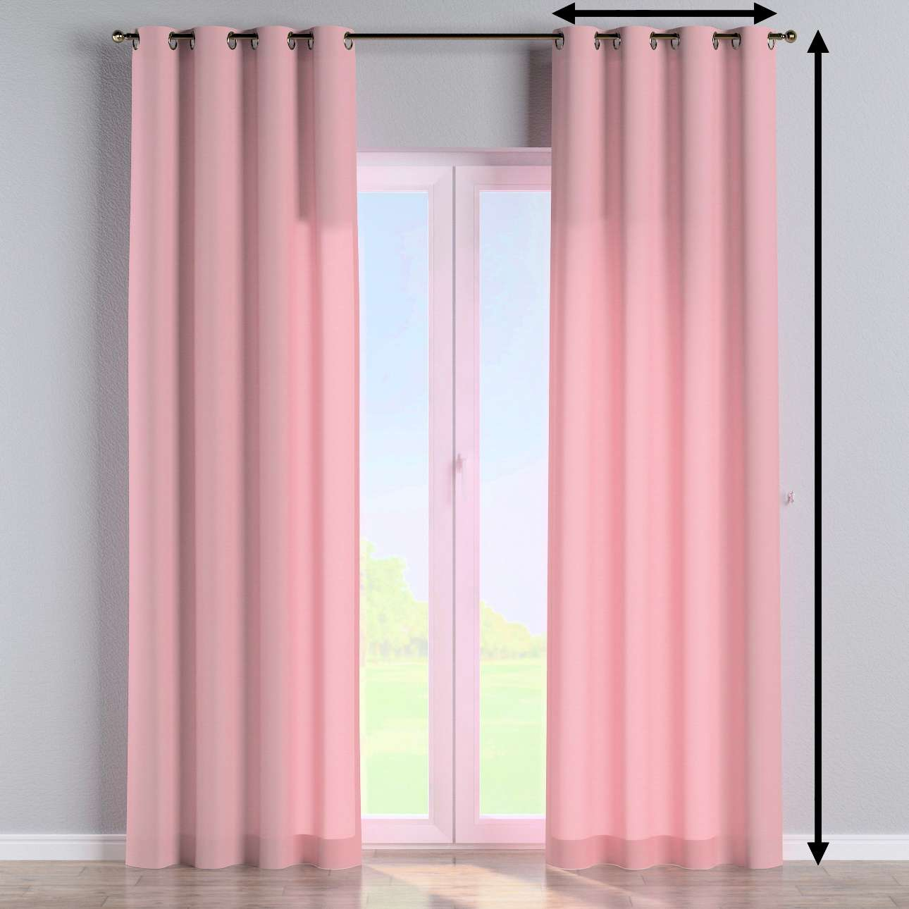 Eyelet curtain in collection Loneta , fabric: 133-62
