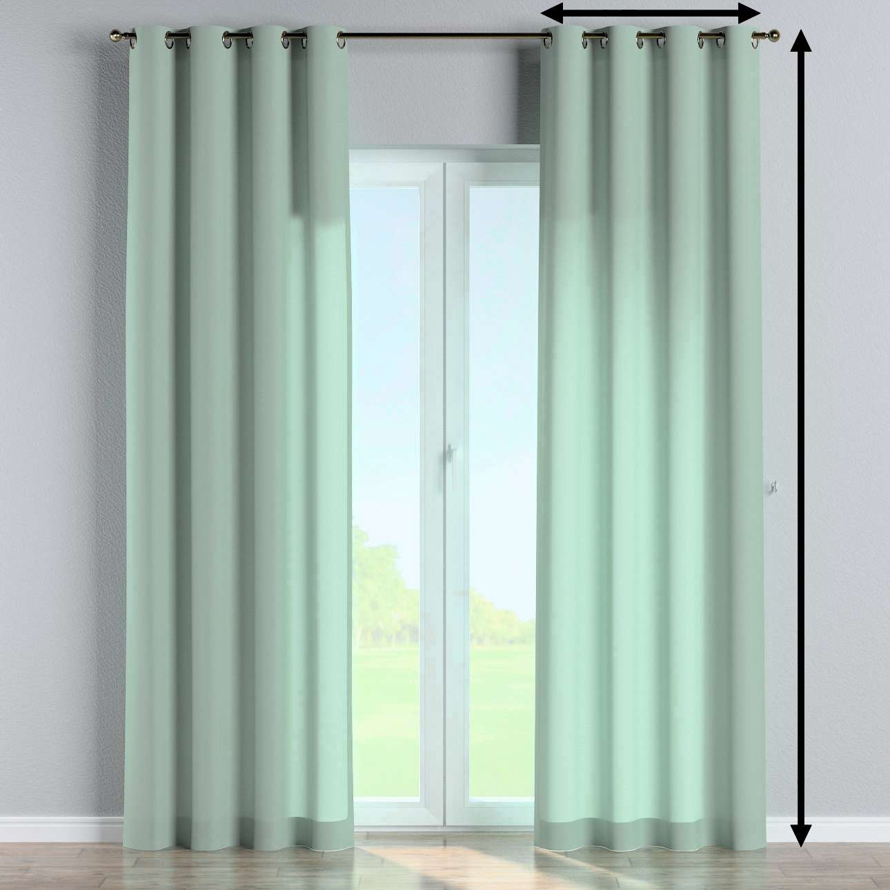 Eyelet curtain in collection Loneta , fabric: 133-61