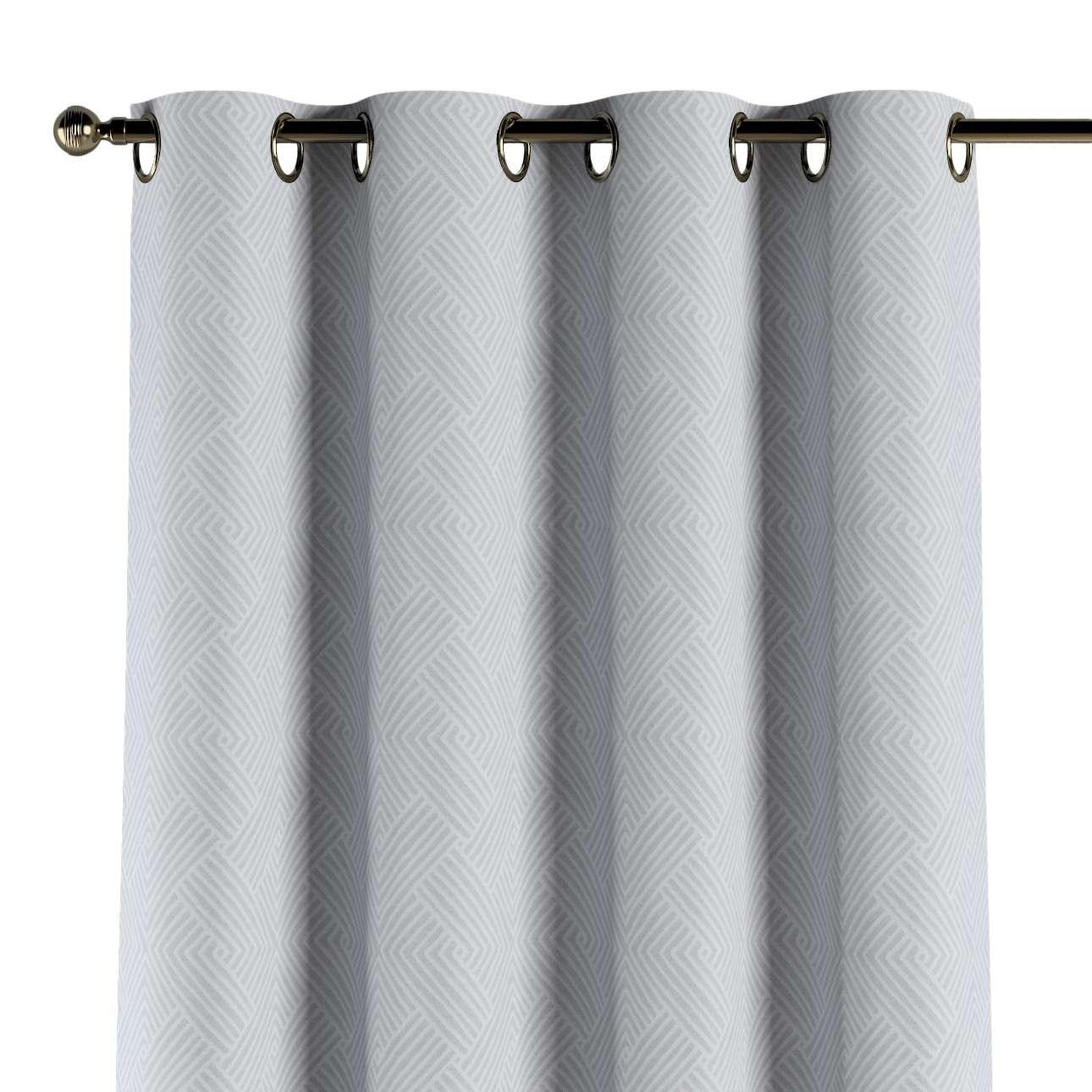Gardin med öljetter 1 längd i kollektionen Sunny, Tyg: 143-43