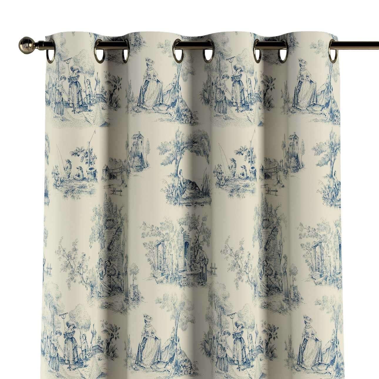Eyelet curtain in collection Avinon, fabric: 132-66