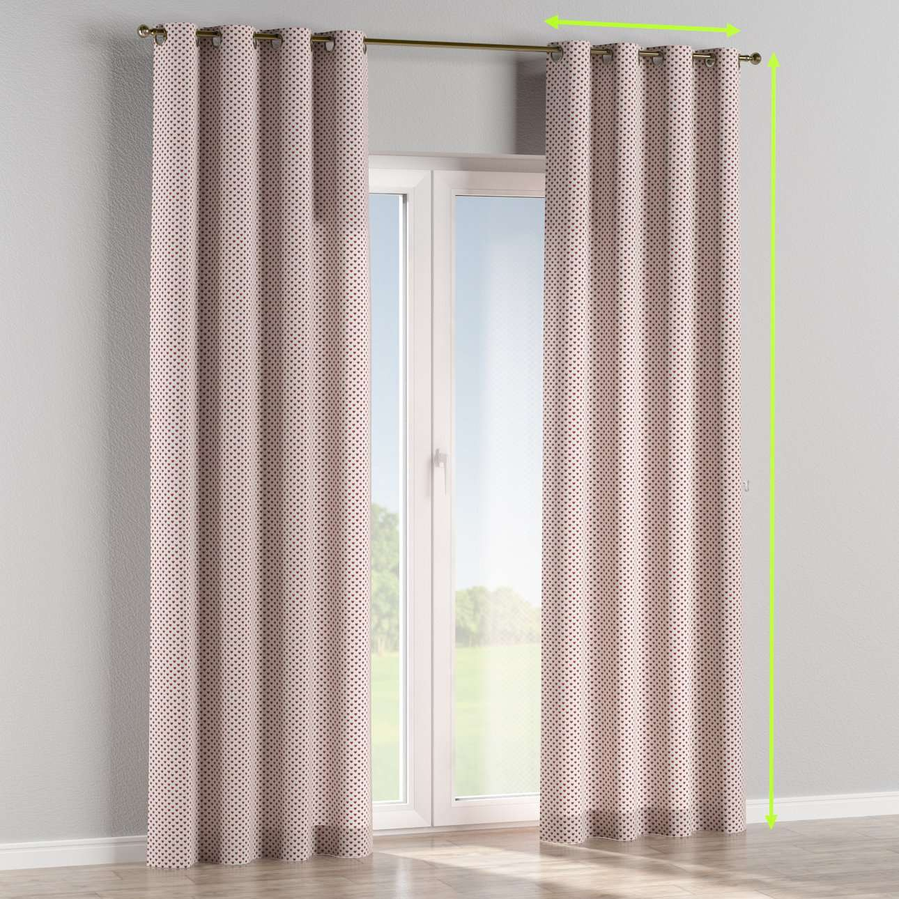 Eyelet curtains in collection SALE, fabric: 630-04