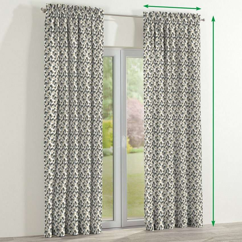 Slot and frill curtains in collection SALE, fabric: 137-57