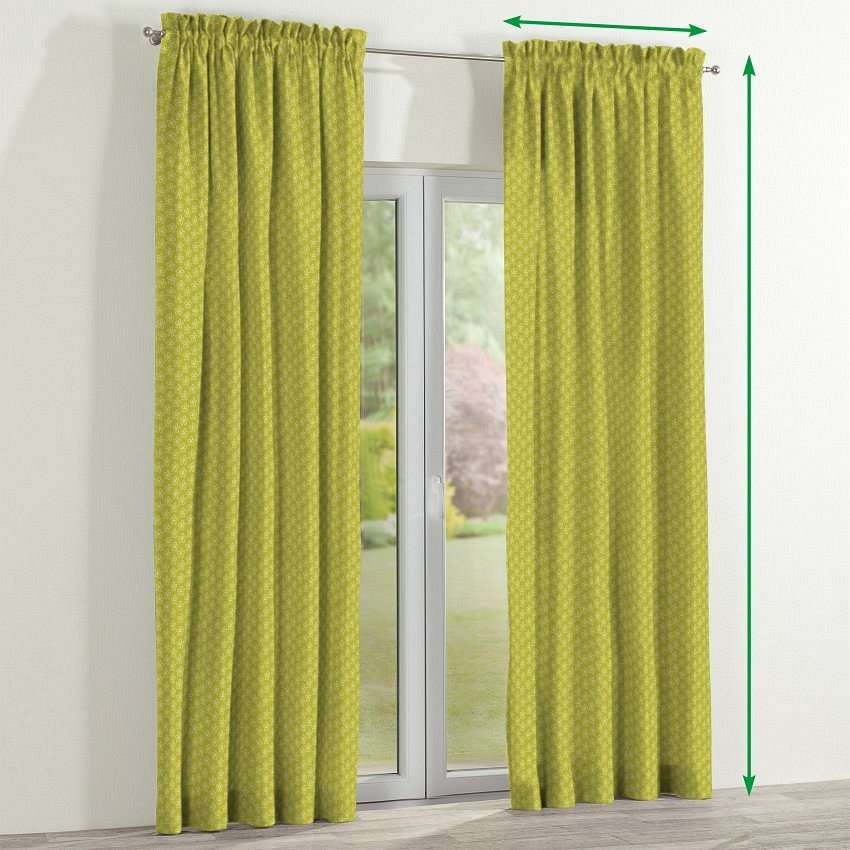 Slot and frill curtains in collection SALE, fabric: 137-58