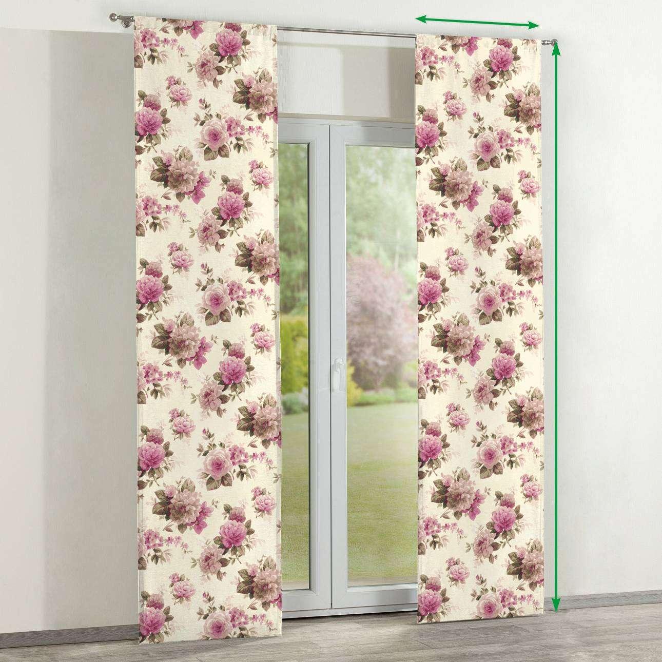 Zasłony panelowe 2 szt. w kolekcji Mirella, tkanina: 141-07