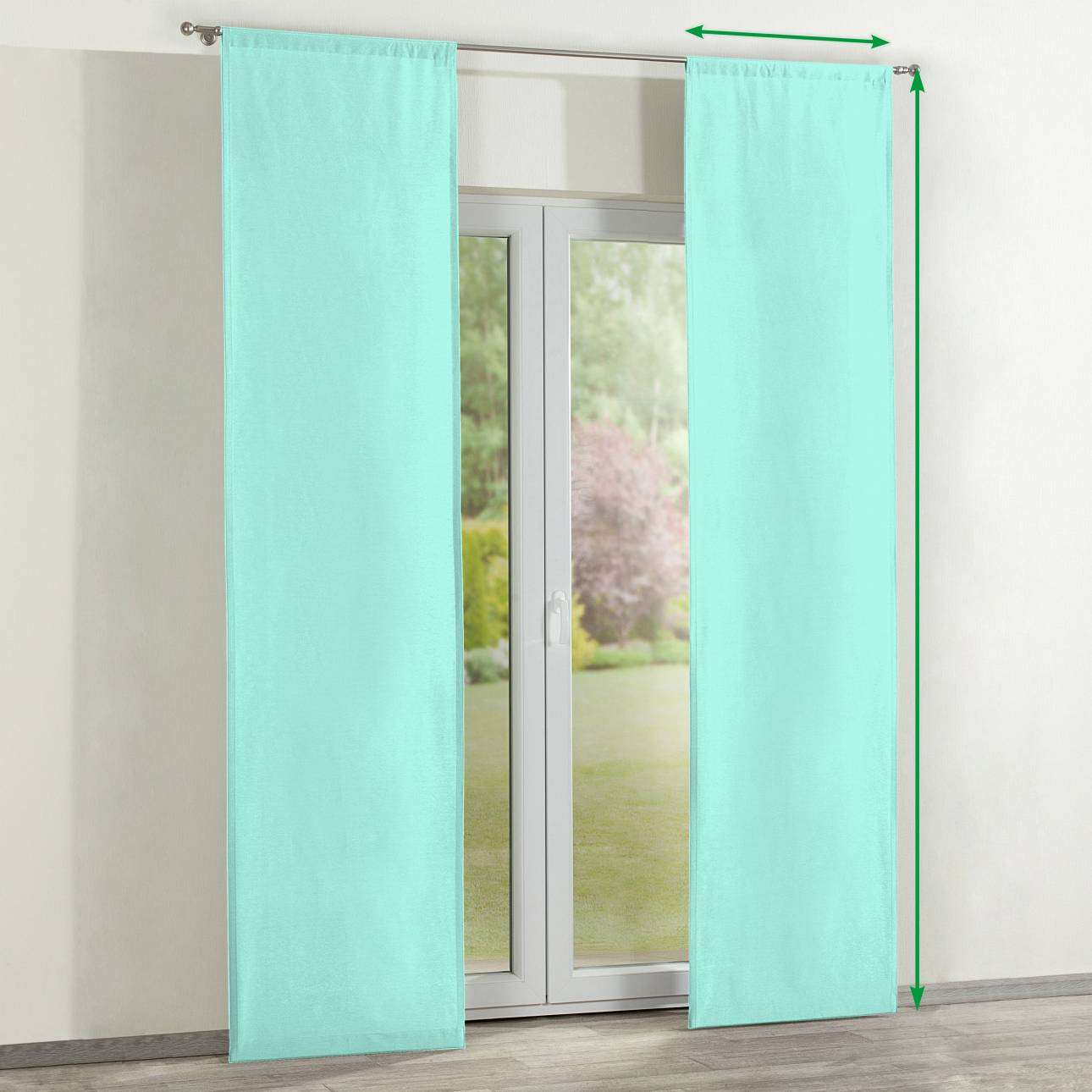 Slot panel curtains – Set of 2 in collection Loneta , fabric: 133-32