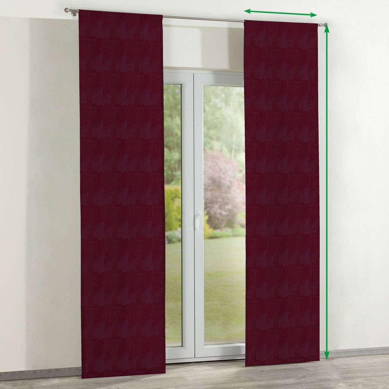 Zasłony panelowe 2 szt. w kolekcji Chenille, tkanina: 702-19