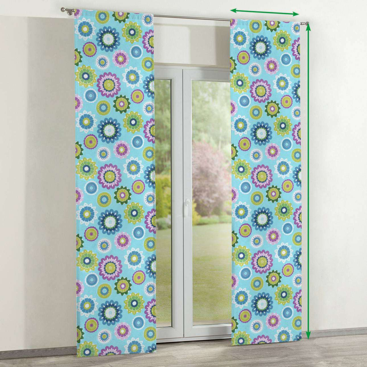 Slot panel curtains – Set of 2 in collection SALE, fabric: 137-20