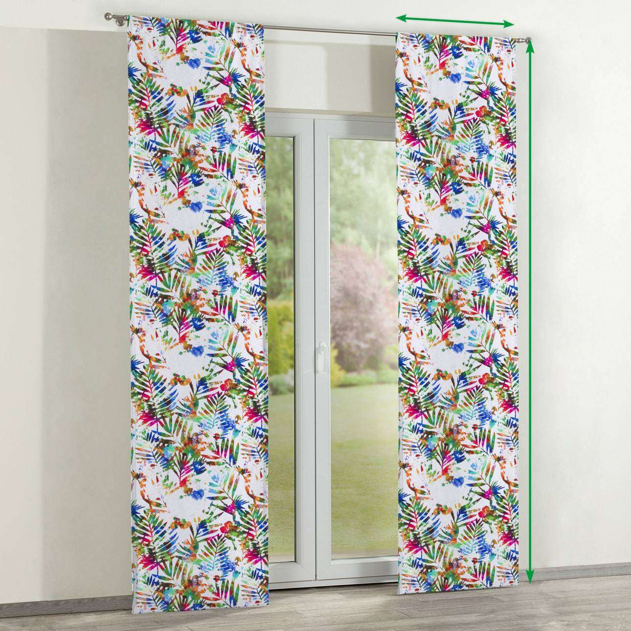 Slot panel curtains – Set of 2 in collection New Art, fabric: 140-22