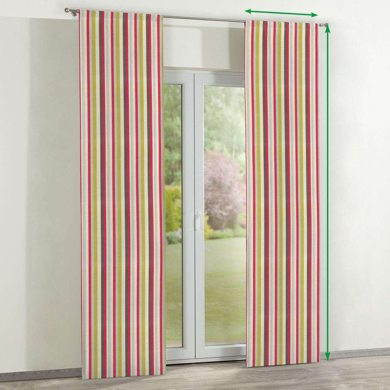 Slot panel curtains – Set of 2 in collection Norge, fabric: 140-81