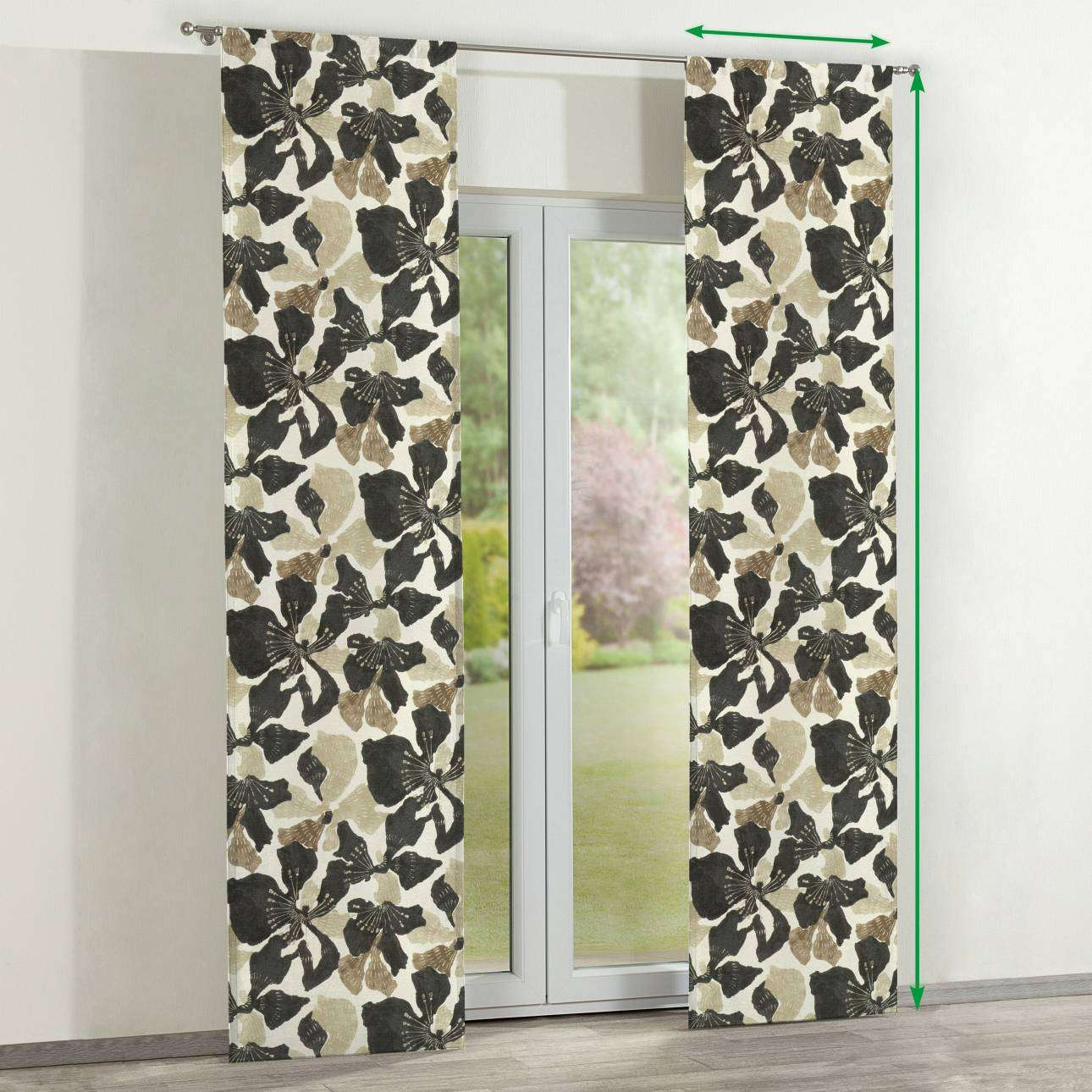 Slot panel curtains – Set of 2 in collection SALE, fabric: 141-08