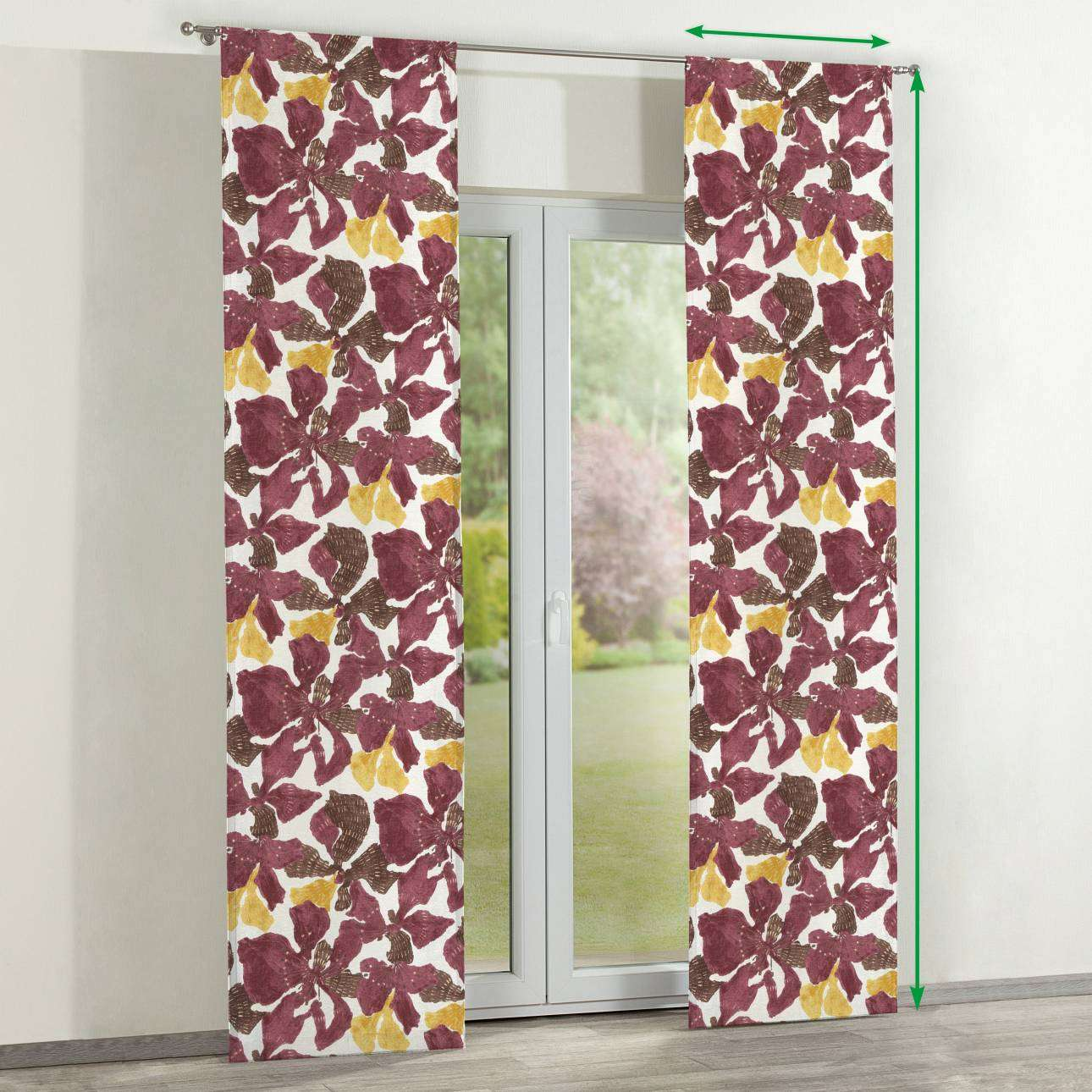 Slot panel curtains – Set of 2 in collection SALE, fabric: 141-09