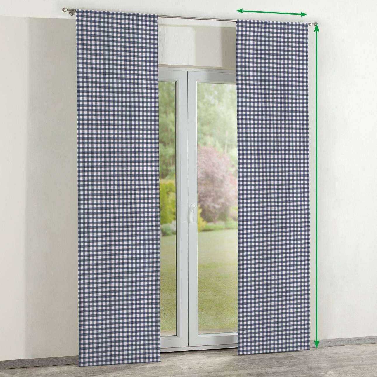 Zasłony panelowe 2 szt. w kolekcji Quadro, tkanina: 136-01
