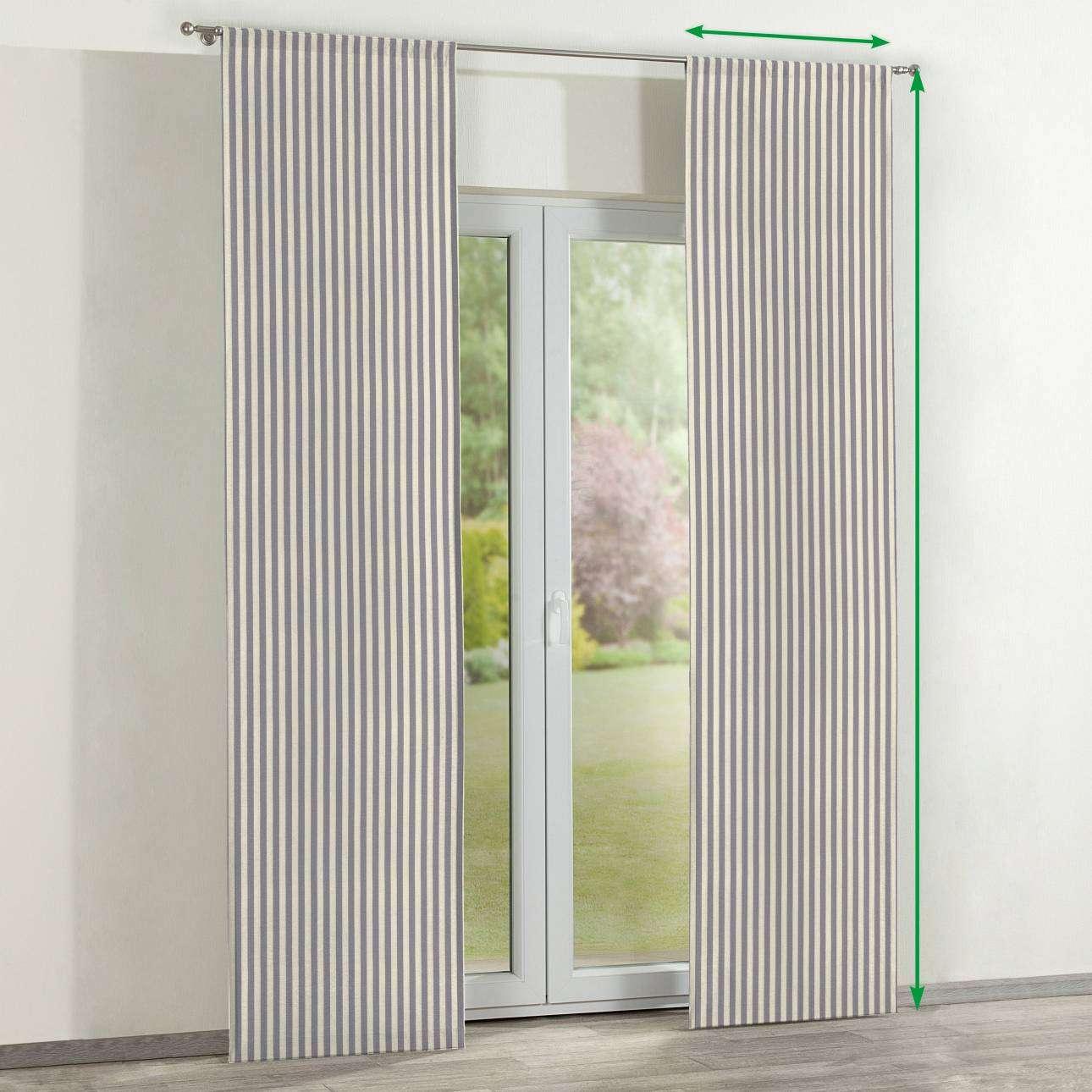 Panelové závesy 2 ks V kolekcii Quadro, tkanina: 136-02