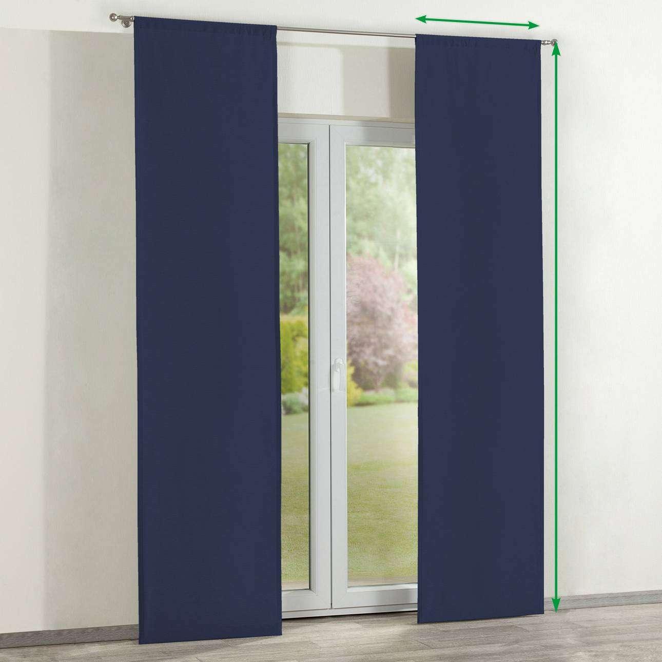 Zasłony panelowe 2 szt. w kolekcji Quadro, tkanina: 136-04