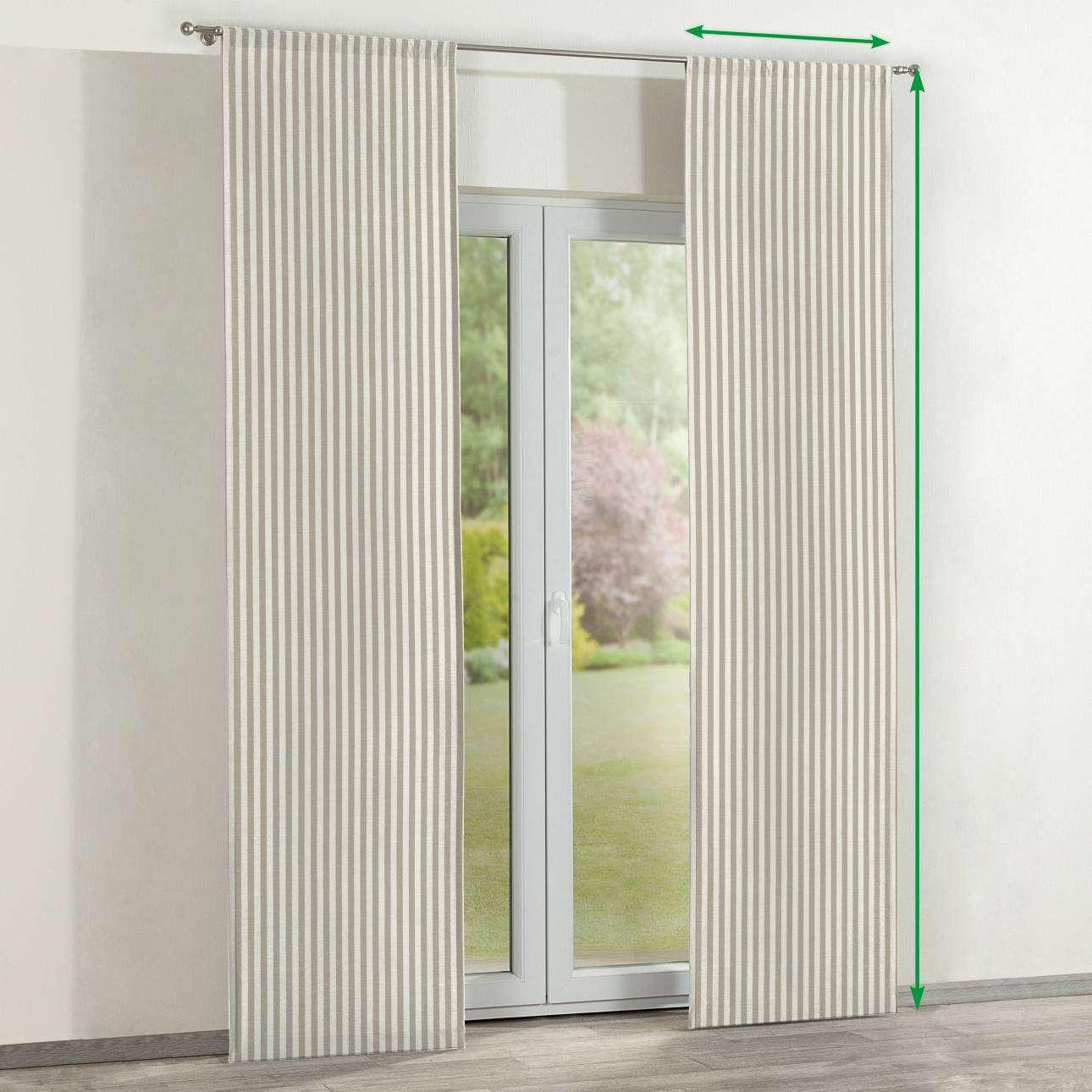 Lapfüggöny 2 darabos a kollekcióból Quadro Lakástextil, Dekoranyag: 136-07