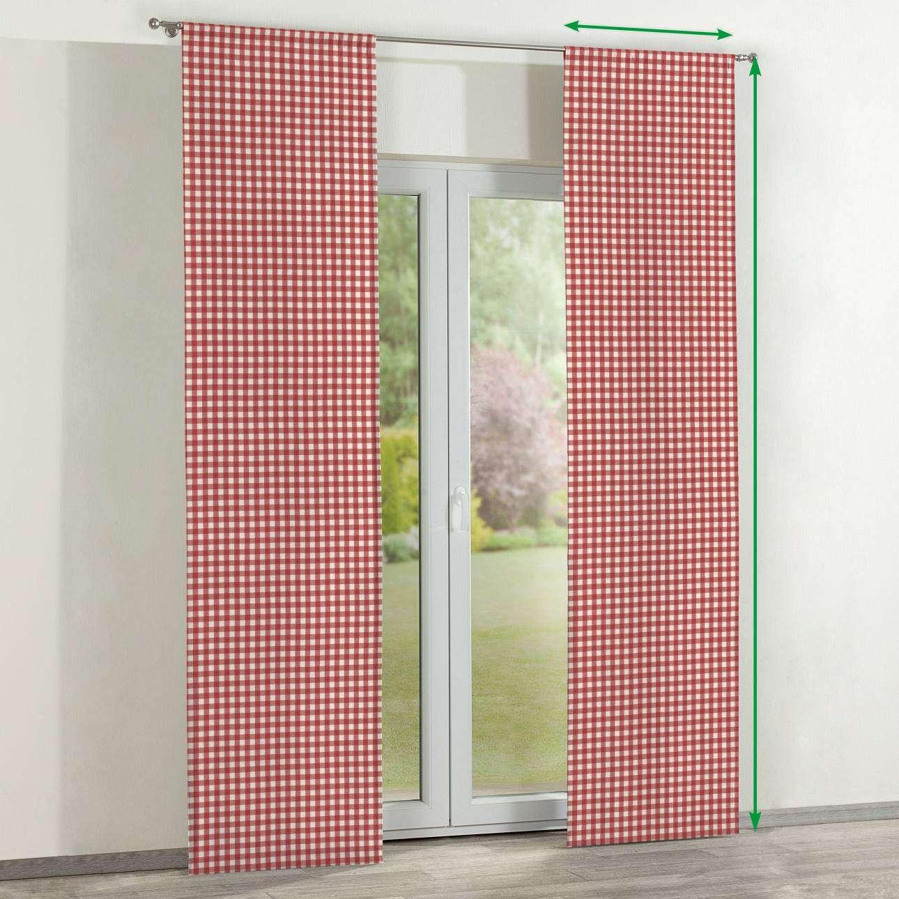 Zasłony panelowe 2 szt. w kolekcji Quadro, tkanina: 136-16