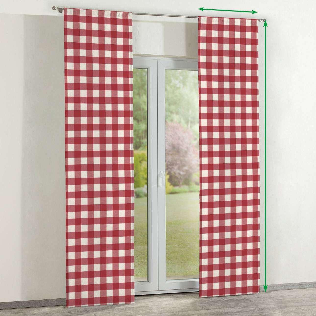 Zasłony panelowe 2 szt. w kolekcji Quadro, tkanina: 136-18