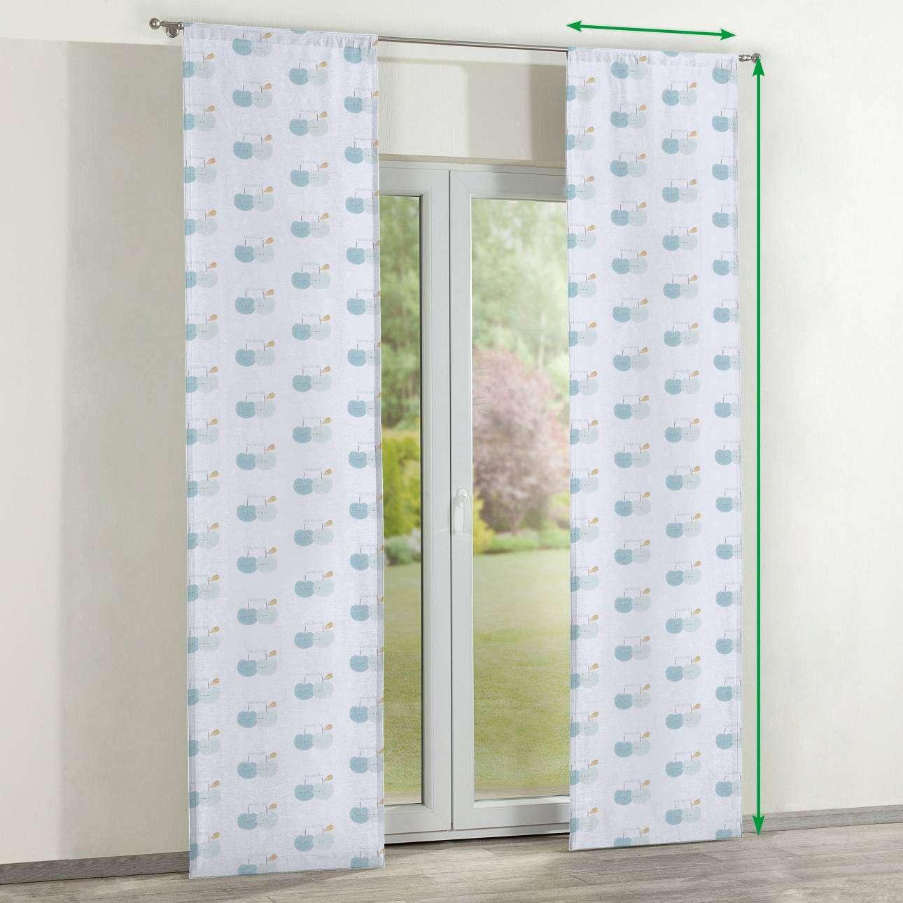 Zasłony panelowe 2 szt. w kolekcji Apanona do -50%, tkanina: 151-02