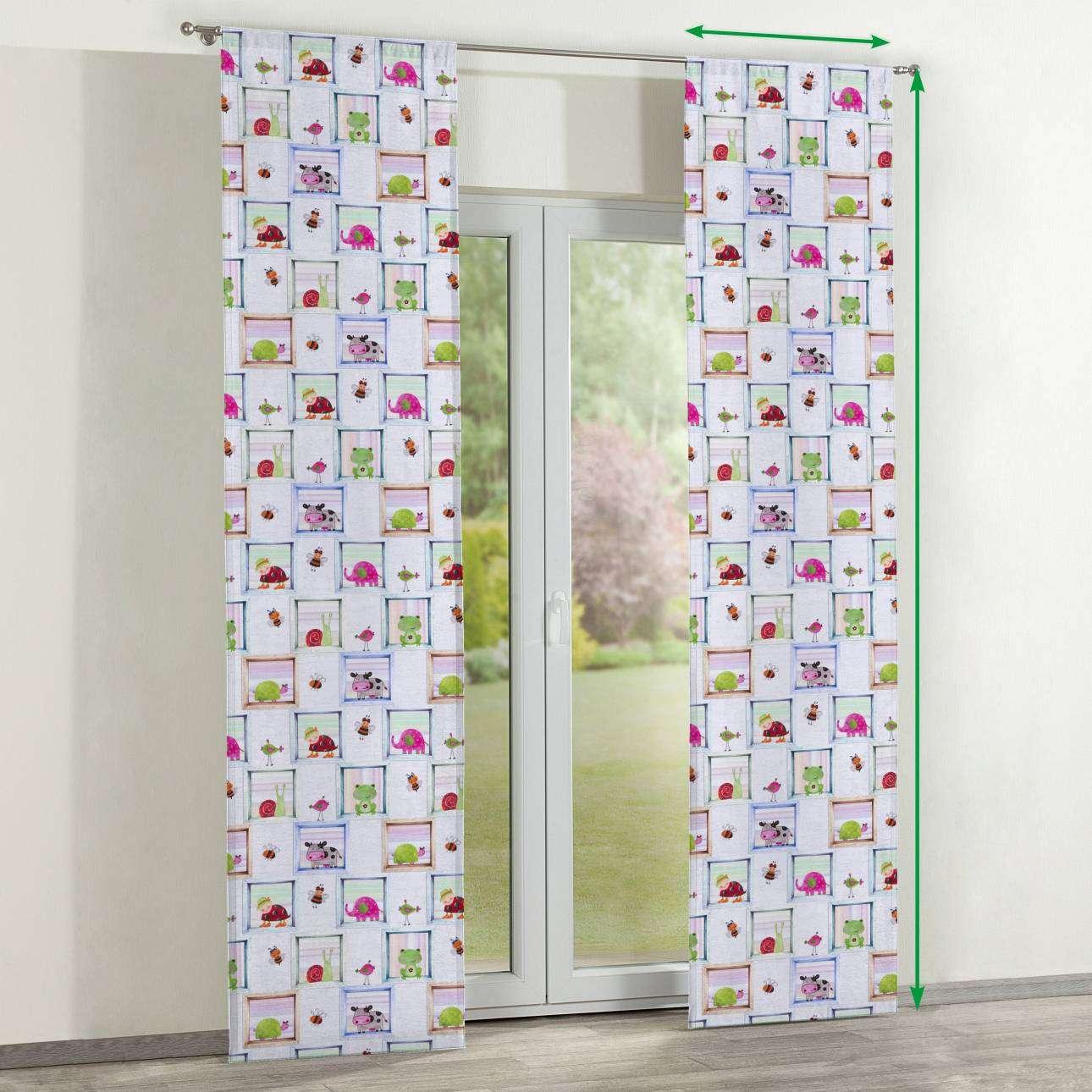 Zasłony panelowe 2 szt. w kolekcji Apanona do -50%, tkanina: 151-04