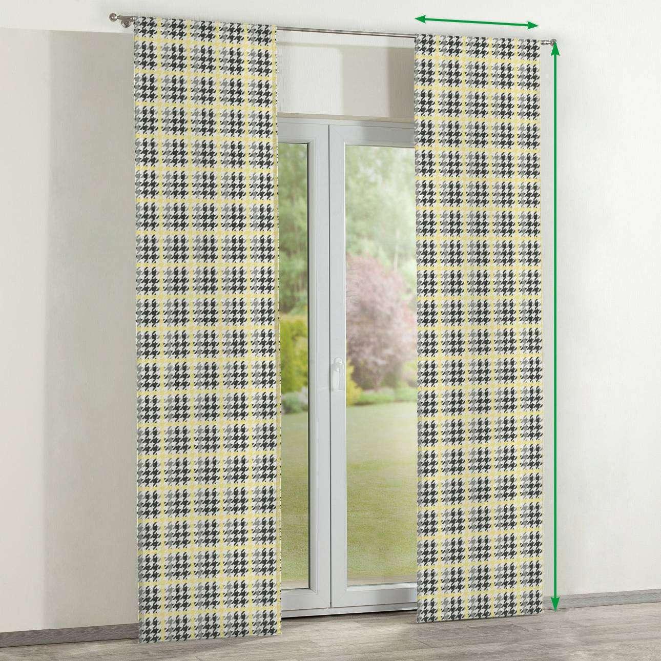 Panelové závesy 2 ks V kolekcii Brooklyn, tkanina: 137-79