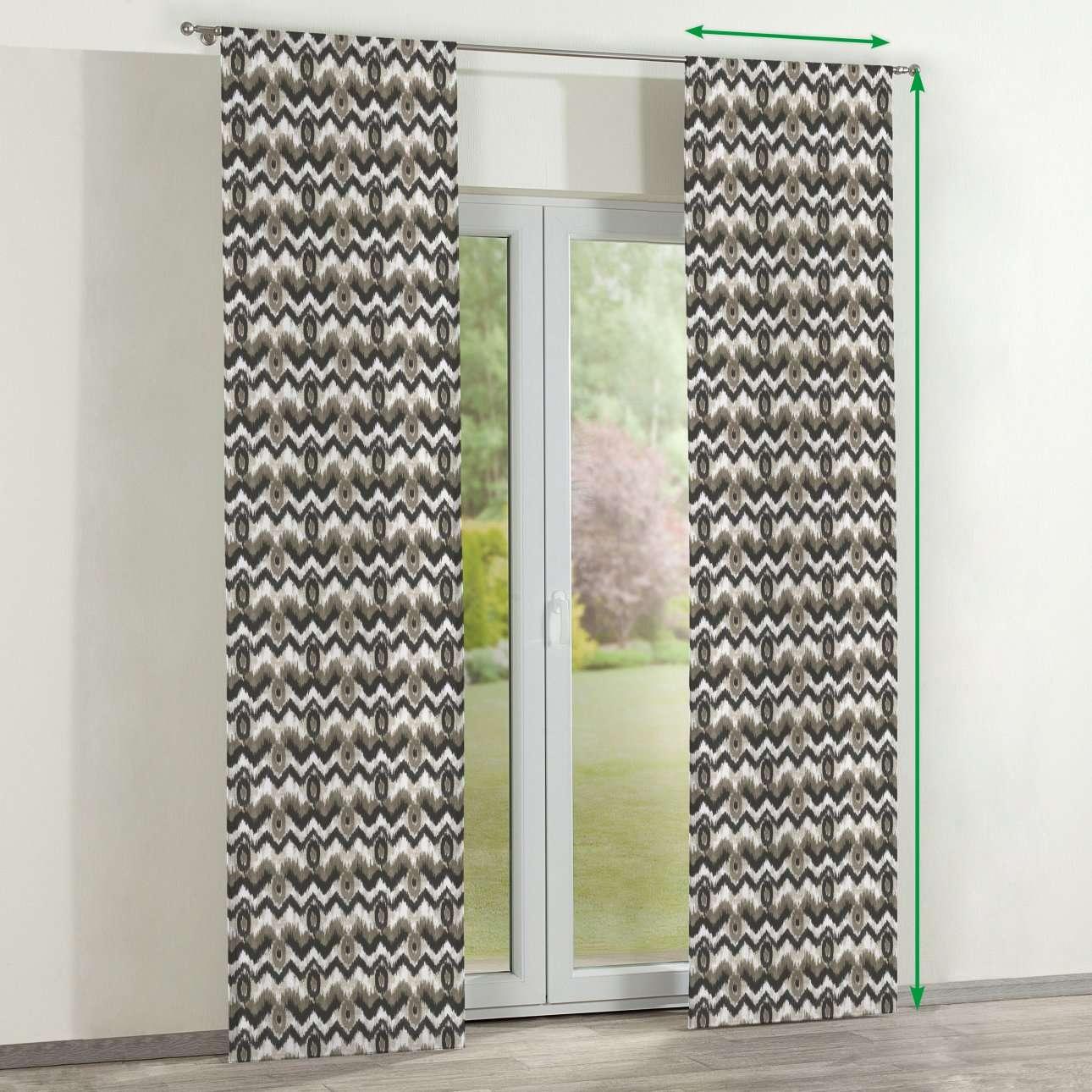 Zasłony panelowe 2 szt. w kolekcji Modern, tkanina: 141-88