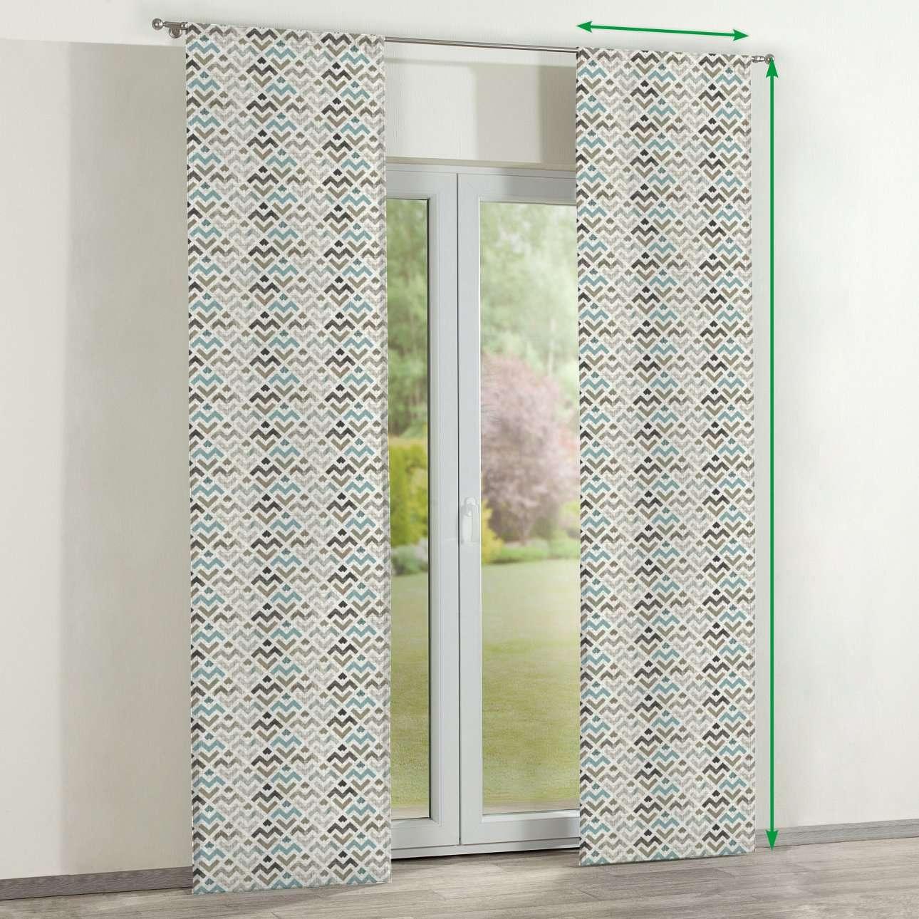 Lapfüggöny 2 darabos a kollekcióból Modern Lakástextil, Dekoranyag: 141-93