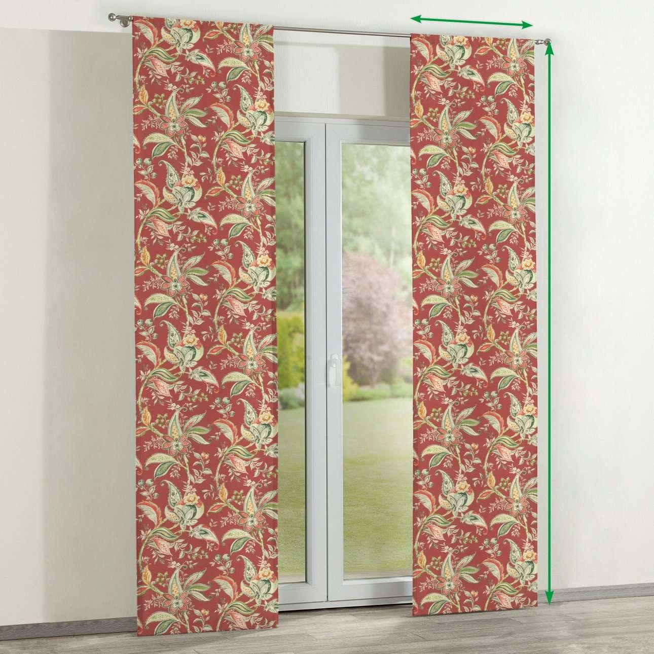 Zasłony panelowe 2 szt. w kolekcji Gardenia, tkanina: 142-12