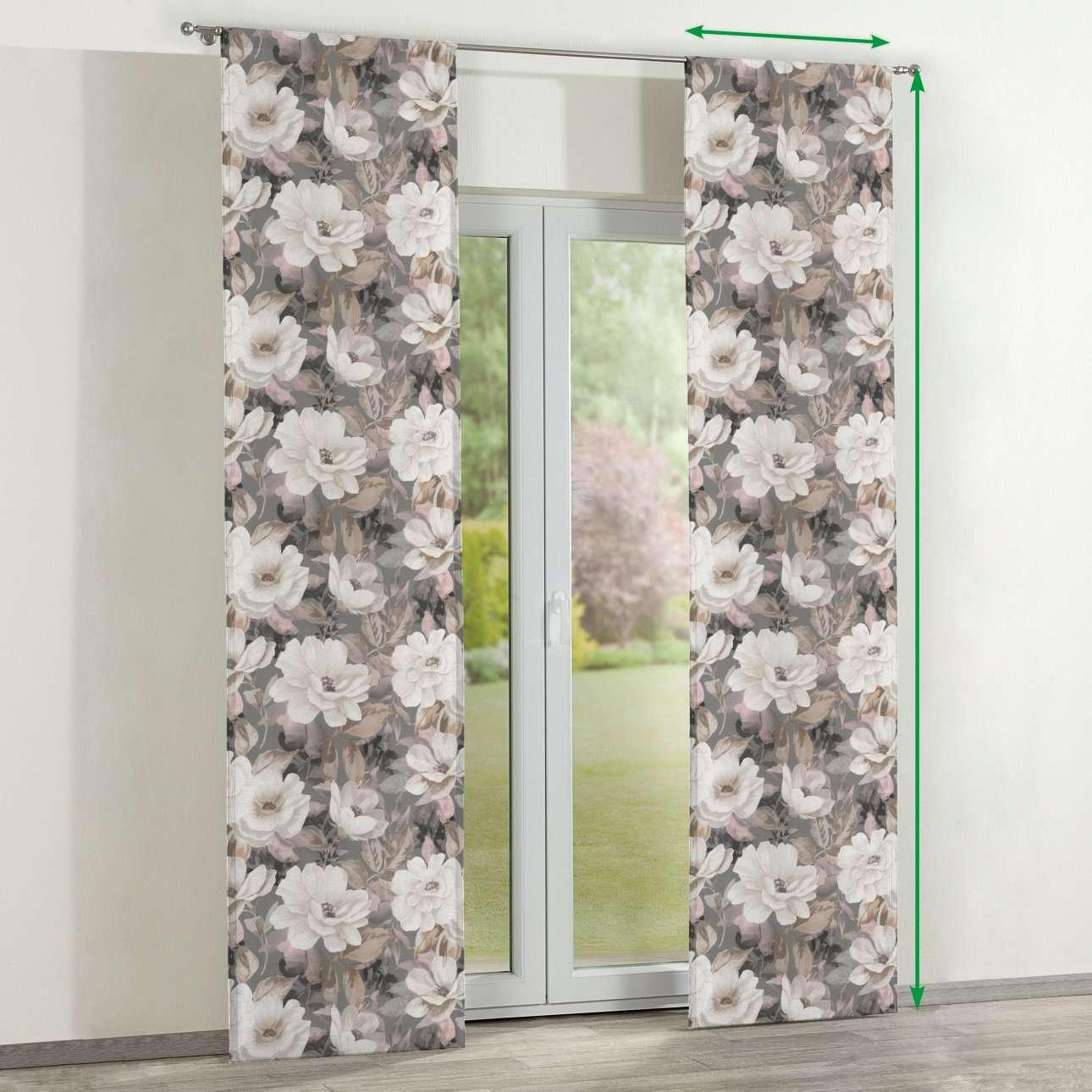 Panelové závesy 2 ks V kolekcii Gardenia, tkanina: 142-13