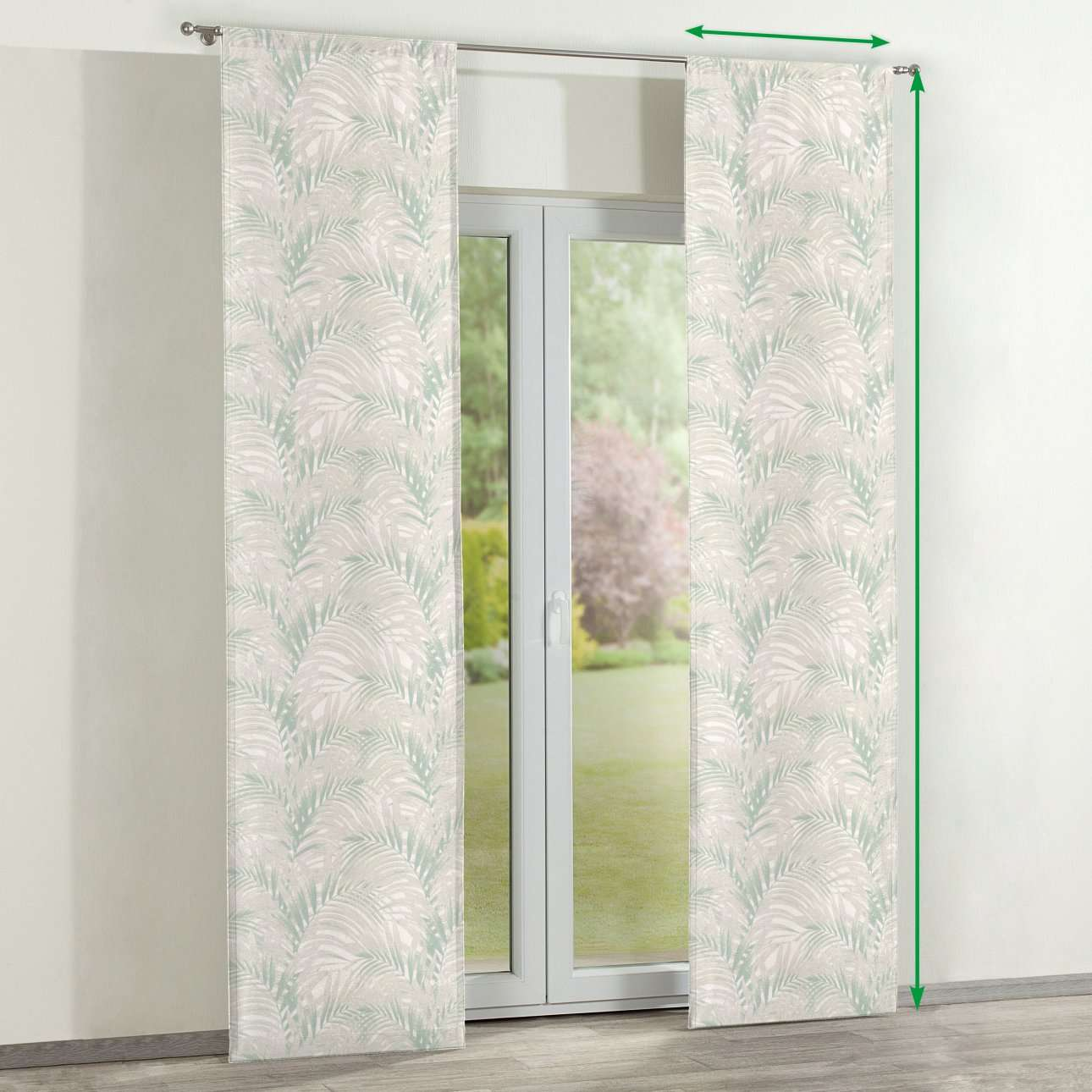 Lapfüggöny 2 darabos a kollekcióból Gardenia Lakástextil, Dekoranyag: 142-15