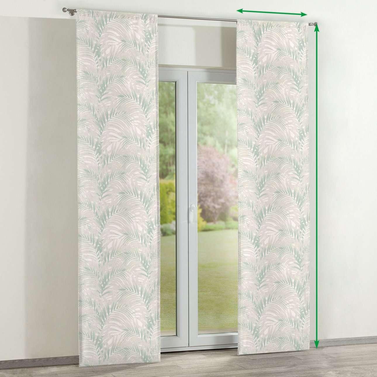 Panelové závesy 2 ks V kolekcii Gardenia, tkanina: 142-15
