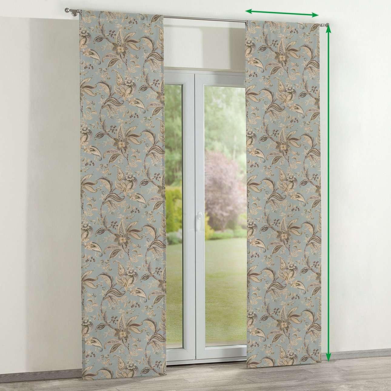 Zasłony panelowe 2 szt. w kolekcji Gardenia, tkanina: 142-18
