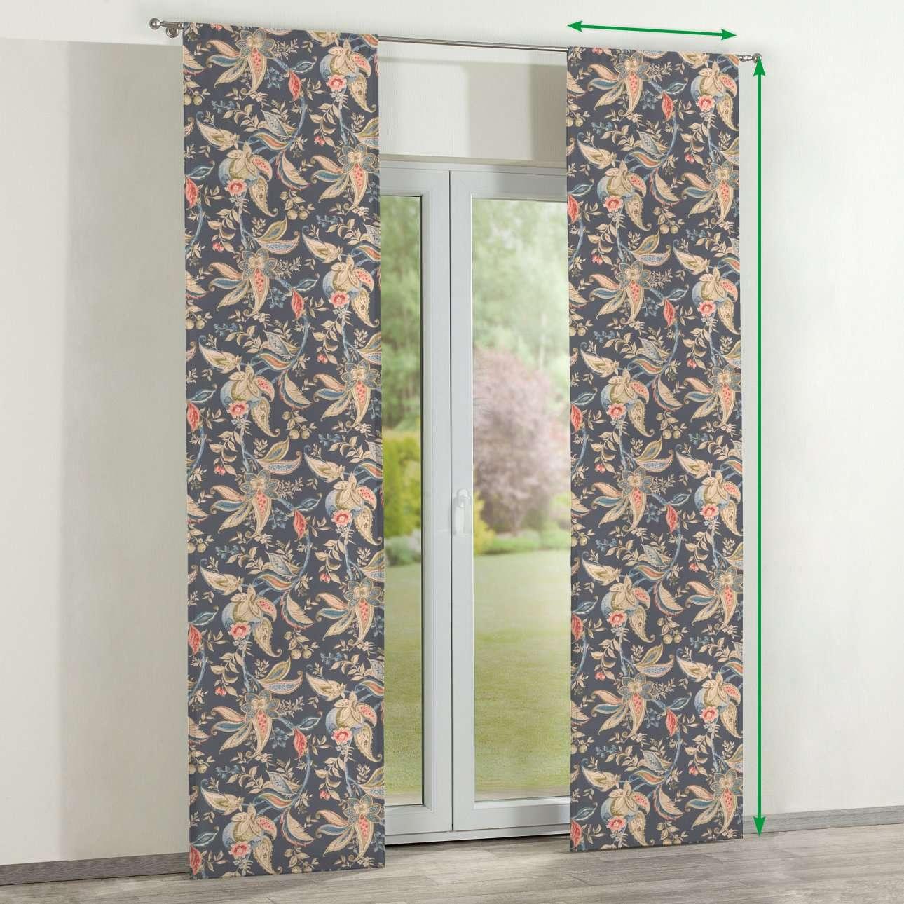 Zasłony panelowe 2 szt. w kolekcji Gardenia, tkanina: 142-19