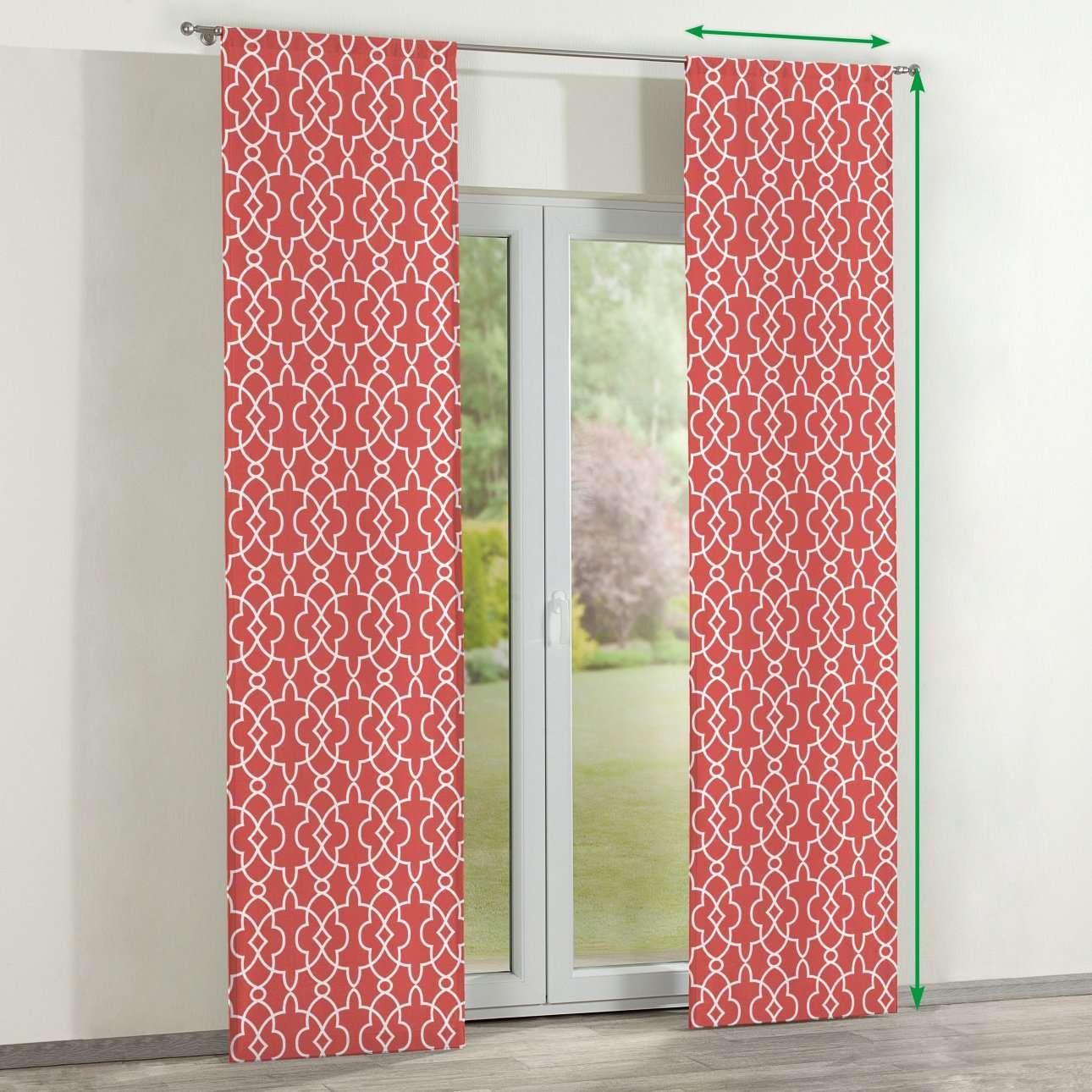 Zasłony panelowe 2 szt. w kolekcji Gardenia, tkanina: 142-21